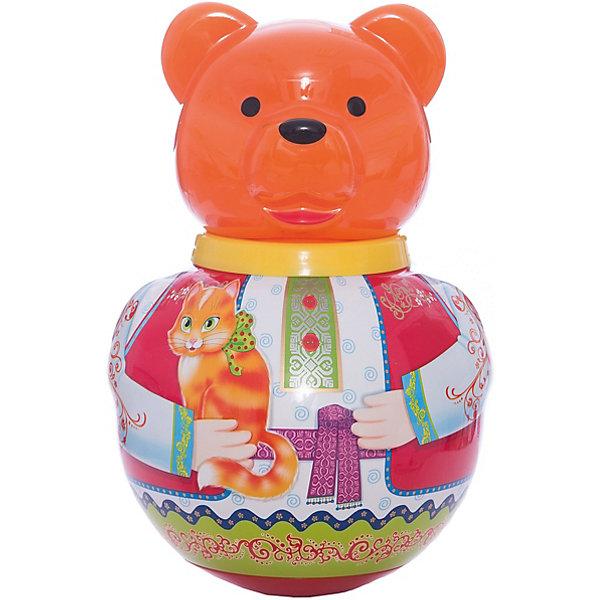 Неваляшка Бурый медведьПотапычЮлы, неваляшки<br>Неваляшка Бурый медведь Потапыч<br><br>Характеристики:<br><br>• Материал: пластик<br>• Возраст: от 12 месяцев<br>• Высота игрушки: 28 см<br>• Размеры упаковки: 18,5х18х30<br><br>Классическая игрушка неваляшка неизменно веселит каждого ребенка. Смешной мишка начинает качаться от легкого прикосновения рукой. А если его положить на спинку – он тут же встает. Игрушка сделана из качественного материала, который не вызывает аллергии у детей. Яркие цвета точно привлекут малыша.<br><br>Неваляшку Бурый медведь Потапыч можно купить в нашем интернет-магазине.<br>Ширина мм: 185; Глубина мм: 180; Высота мм: 300; Вес г: 500; Возраст от месяцев: 36; Возраст до месяцев: 2147483647; Пол: Унисекс; Возраст: Детский; SKU: 4915284;