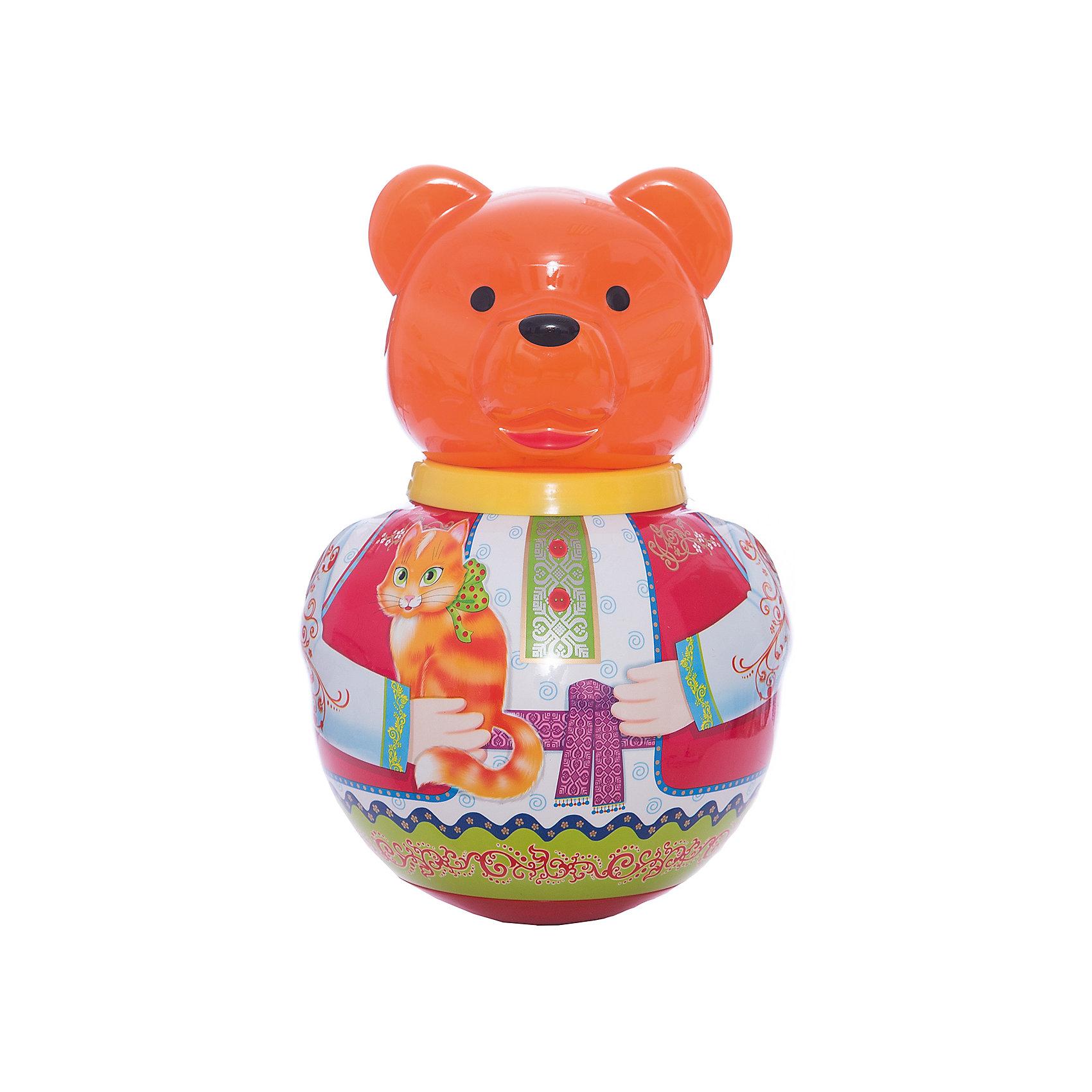 Неваляшка Бурый медведьПотапычНеваляшки<br>Неваляшка Бурый медведь Потапыч<br><br>Характеристики:<br><br>• Материал: пластик<br>• Возраст: от 12 месяцев<br>• Высота игрушки: 28 см<br>• Размеры упаковки: 18,5х18х30<br><br>Классическая игрушка неваляшка неизменно веселит каждого ребенка. Смешной мишка начинает качаться от легкого прикосновения рукой. А если его положить на спинку – он тут же встает. Игрушка сделана из качественного материала, который не вызывает аллергии у детей. Яркие цвета точно привлекут малыша.<br><br>Неваляшку Бурый медведь Потапыч можно купить в нашем интернет-магазине.<br><br>Ширина мм: 185<br>Глубина мм: 180<br>Высота мм: 300<br>Вес г: 500<br>Возраст от месяцев: 36<br>Возраст до месяцев: 2147483647<br>Пол: Унисекс<br>Возраст: Детский<br>SKU: 4915284