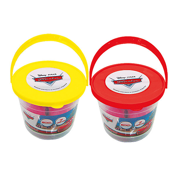 Пластилин в ведре Тачки, 7 цветовТачки<br>Пластилин в ведре Тачки - набор для детского творчества, состоящий из 7 брусочков пластилина разного цвета. Созданные фигурки или неиспользованный пластилин удобно хранить в ведерке. Пластилин яркого цвета и легко разминается. Упаковка с героями известного мультсериала Тачки. Ребенок получит огромное удовольствие от лепки из такого пластилина!<br>Дополнительная информация:<br>-в наборе: 7 брусочков пластилина, ведерко<br>Сказочный персонаж: Тачки<br>-вес: 670 грамм<br>-размер упаковки: 13x11x13 см<br>Пластилин Тачки вы можете приобрести в нашем интернет-магазине.<br><br>Ширина мм: 130<br>Глубина мм: 110<br>Высота мм: 130<br>Вес г: 670<br>Возраст от месяцев: 36<br>Возраст до месяцев: 84<br>Пол: Мужской<br>Возраст: Детский<br>SKU: 4915416