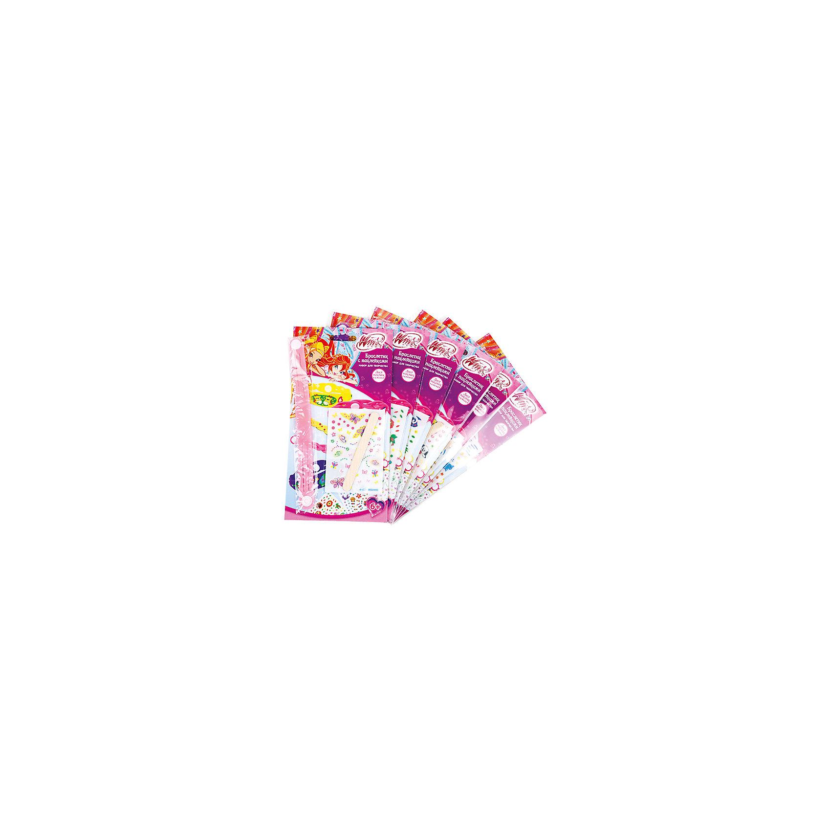Набор Волшебные фенечки, Winx Club, в ассортиментеНабор Волшебные фенечки для девочек, любящих мультсериал с феями Винкс. С помощью специального прибора и разноцветных нитей, юная модница с легкостью создаст украшения на свой вкусом, которыми приятно будет похвастаться перед подружками.<br>Дополнительная информация:<br>-в наборе: нити разных цветов, прибор для плетения<br>Сказочный персонаж: Winx Club<br>-вес: 210 грамм<br>-размер упаковки: 2621x4 см<br>Набор Волшебные фенечки Winx Club можно приобрести в нашем интернет-магазине.<br><br>Ширина мм: 40<br>Глубина мм: 210<br>Высота мм: 260<br>Вес г: 210<br>Возраст от месяцев: 72<br>Возраст до месяцев: 108<br>Пол: Женский<br>Возраст: Детский<br>SKU: 4915438