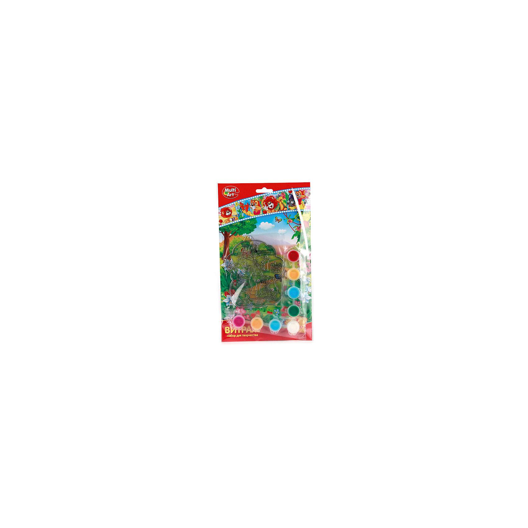 Витраж с красками и кистью, Союзмультфильм, в ассортиментеС витражным набором Союзмультфильм ребенок сможет создать яркую картинку с любимым персонажем. Краски легко наносятся на основу с помощью кисточки, входящей в комплект. В этом наборе есть все для развития воображения и хорошего настроения ht,tyrf!<br>Дополнительная информация:<br>-в наборе: основа, 8 баночек с краской, кисточка<br>Сказочный персонаж: герои Союзмультфильма<br>-вес: 90 грамм<br>-размер упаковки: 17х28х2 см<br>Набор Союзмультфильм вы можете приобрести в нашем интернет-магазине.<br><br>Ширина мм: 20<br>Глубина мм: 280<br>Высота мм: 170<br>Вес г: 90<br>Возраст от месяцев: 36<br>Возраст до месяцев: 84<br>Пол: Унисекс<br>Возраст: Детский<br>SKU: 4915466