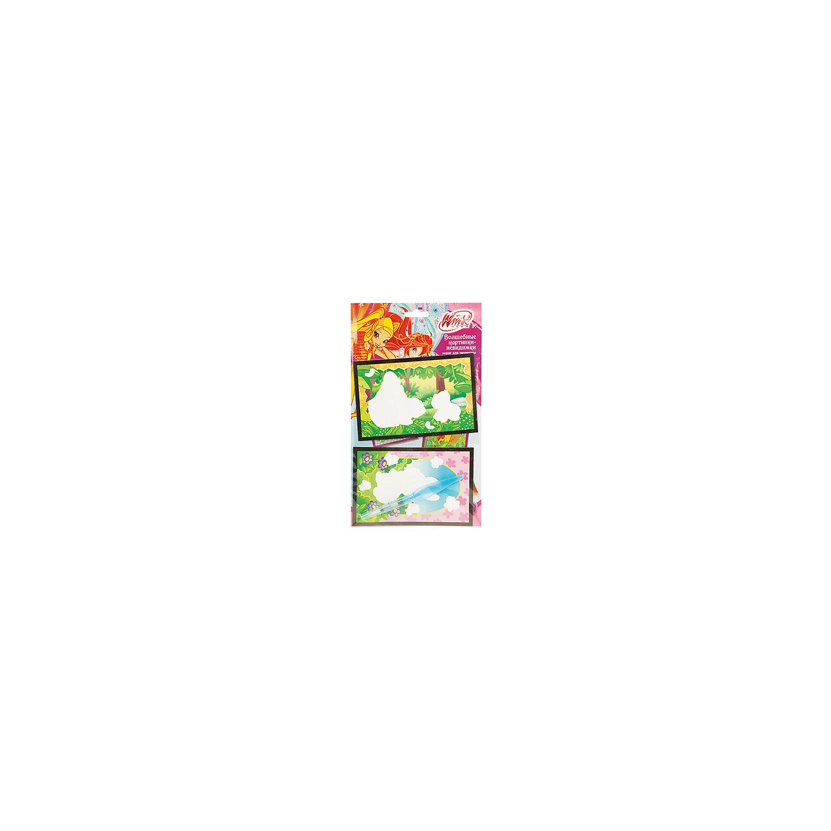 Набор Картинки-невидимки, маленькие, Winx ClubМаленькие картинки-невидимки от добрых волшебниц Винкс не оставят ребенка равнодушным! Достаточно лишь раскрасить картинку фломастером и она заиграет новыми яркими красками!<br>Дополнительная информация:<br>-в наборе: картинки-основы, водный фломастер<br>Сказочный персонаж: Winx Club<br>-вес: 30 грамм<br>-размер упаковки: 22х12х14 см<br>Набор картинок-невидимок Winx Club можно купить в нашем интернет-магазине.<br><br>Ширина мм: 140<br>Глубина мм: 120<br>Высота мм: 220<br>Вес г: 30<br>Возраст от месяцев: 60<br>Возраст до месяцев: 108<br>Пол: Женский<br>Возраст: Детский<br>SKU: 4915524