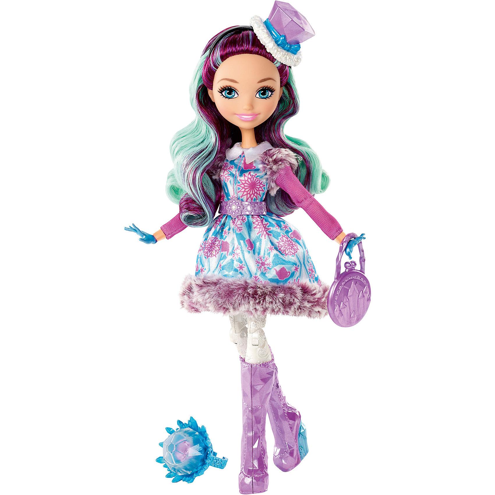 Mattel Кукла из коллекции Заколдованная зима, Ever After High кукла кана из серии джуку