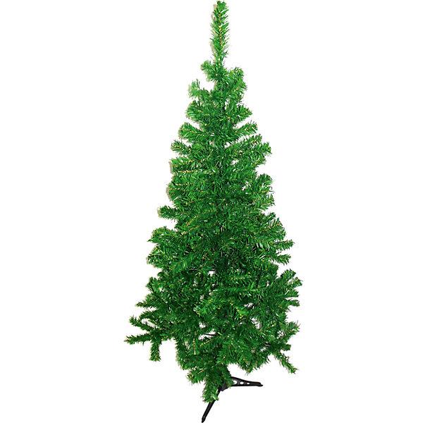 Ель зелёная, 150 смИскусственные ёлки<br>Характеристики товара:<br><br>• цвет: зеленый<br>• материал: полимер<br>• высота: 150 см<br>• 250 веточек<br>• три части<br>• зеленая подставка<br>• устойчивая<br>• легко собирается<br>• страна изготовитель: Китай<br><br>Новогодний праздник невозможен без ёлки. Искусственная во многих отношениях даже удобнее, чем настоящая - не опадает, не требует особой установки и её не нужно выносить! Ёлочные игрушки и мишура на ней смотрятся ничуть не хуже.<br>Эти красивая зеленая ель легко собирается, подставка - устойчивая. Размер в полтора метра идеален для небольших помещений. Такая ёлка будет создавать праздничное настроение не один год! Изделие производится из качественных и проверенных материалов, которые безопасны для детей.<br><br>Ель зелёную, 150 см, от бренда Яркий праздник можно купить в нашем интернет-магазине.<br>Ширина мм: 1500; Глубина мм: 400; Высота мм: 400; Вес г: 2800; Возраст от месяцев: 36; Возраст до месяцев: 2147483647; Пол: Унисекс; Возраст: Детский; SKU: 4916339;