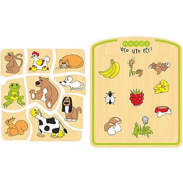 Рамка-вкладыш Кто что ест?Развивающие игрушки<br>Сделать процесс познавания мира для малышей - просто! Яркая обучающая рамка-вкладыш Кто что ест? поможет ребенку легко запомнить зверей и их пищу в процессе совмещения соответствующих элементов.<br>Эта рамка-вкладыш обязательно займет ребенка! Игра с ней помогает детям развивать мелкую моторику и познавать мир. Обучающая игрушка сделана из качественных и безопасных для ребенка материалов - натурального дерева.<br><br>Дополнительная информация:<br><br>цвет: разноцветный;<br>размер: 25,3 х 21 х 0,8 см;<br>вес: 215 г;<br>элементов: 10;<br>материал: дерево.<br><br>Рамку-вкладыш Кто что ест? можно купить в нашем магазине.<br><br>Ширина мм: 255<br>Глубина мм: 5<br>Высота мм: 210<br>Вес г: 215<br>Возраст от месяцев: 36<br>Возраст до месяцев: 2147483647<br>Пол: Унисекс<br>Возраст: Детский<br>SKU: 4916342