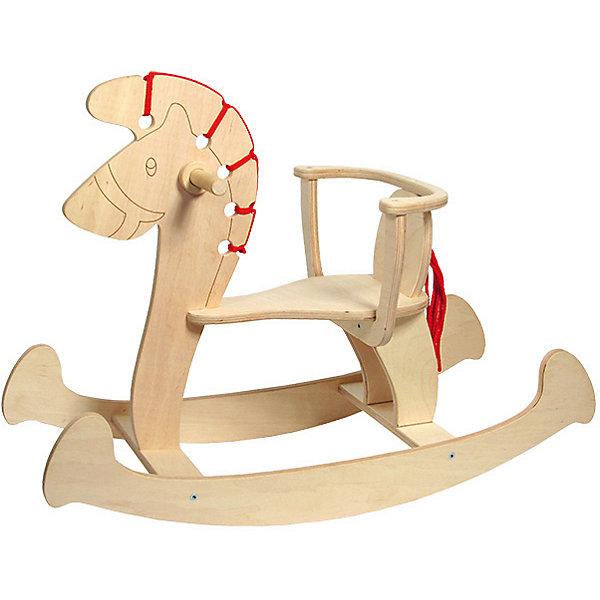 Лошадка-качалка-2Каталки и качалки<br>Деревянные игрушки - это не только красиво, это еще и экологично, интересно и увлекательно! Качалка в виде лошадки очень нравится малышам. Она легко собирается. <br>Эта игрушка обязательно займет ребенка! Катание на ней помогает детям развивать чувство равновесия. Лошадку можно раскрасить по своему усмотрению. Эта игрушка сделана из качественных и безопасных для ребенка материалов - натурального дерева.<br><br>Дополнительная информация:<br><br>цвет: дерево;<br>размер: 76 х 56,5 см;<br>вес: 3,5 кг;<br>высота сиденья от пола: 26 см;<br>материал: дерево.<br><br>Лошадку-качалку-2 можно купить в нашем магазине.<br><br>Ширина мм: 760<br>Глубина мм: 550<br>Высота мм: 330<br>Вес г: 3095<br>Возраст от месяцев: 36<br>Возраст до месяцев: 2147483647<br>Пол: Унисекс<br>Возраст: Детский<br>SKU: 4916372
