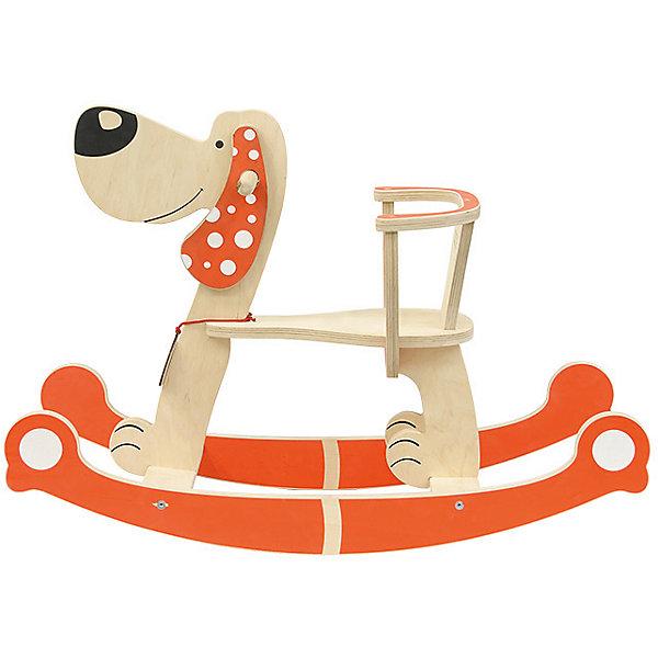 Собака-качалкаКаталки и качалки<br>Деревянные игрушки - это не только красиво, это еще и экологично, интересно и увлекательно! Качалка в виде собаки очень нравится малышам. Она легко собирается. <br>Эта игрушка обязательно займет ребенка! Катание на ней помогает детям развивать чувство равновесия. Эта игрушка сделана из качественных и безопасных для ребенка материалов - натурального дерева.<br><br>Дополнительная информация:<br><br>цвет: дерево;<br>размер: 76 х 56,5 см;<br>вес: 3,5 кг;<br>высота сиденья от пола: 26 см;<br>материал: дерево.<br><br>Собаку-качалку можно купить в нашем магазине.<br><br>Ширина мм: 760<br>Глубина мм: 500<br>Высота мм: 330<br>Вес г: 3595<br>Возраст от месяцев: 36<br>Возраст до месяцев: 2147483647<br>Пол: Унисекс<br>Возраст: Детский<br>SKU: 4916373