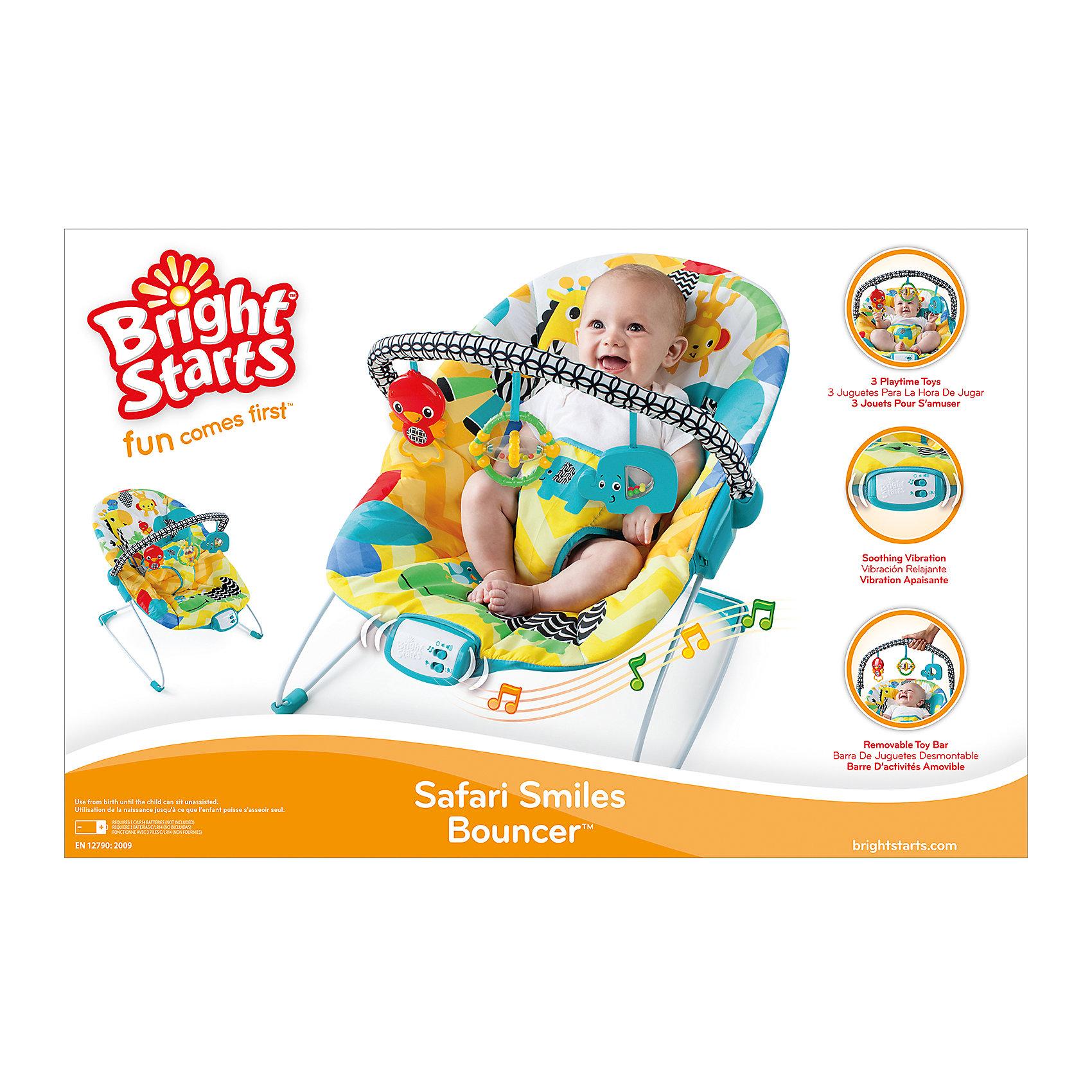 Кресло-качалка «Солнечное сафари» 2016, Bright Starts