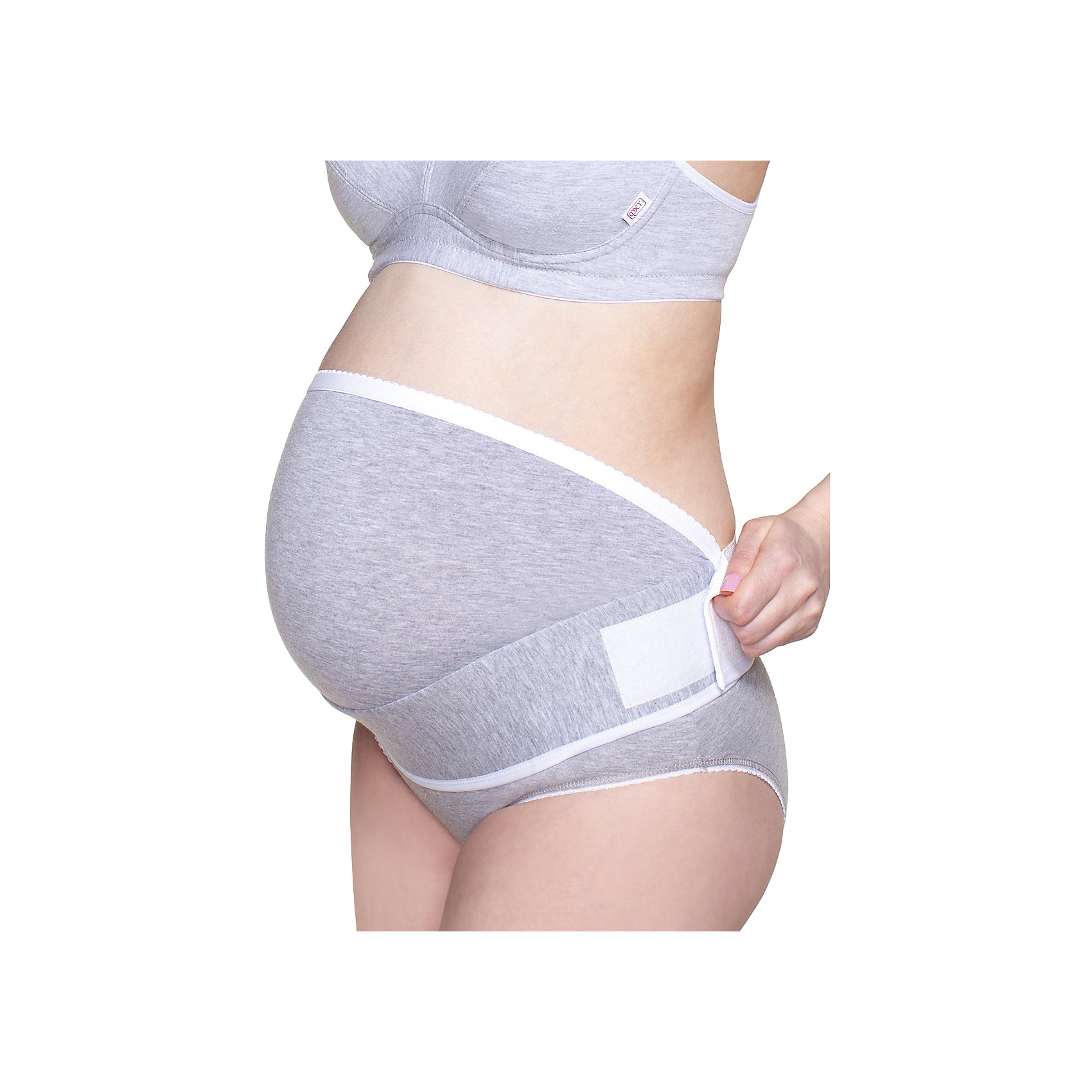 Бандаж дородовый ФЭСТБандажи<br>Дородовой бандаж-животик ФЭСТ рекомендован Российским обществом акушеров-гинекологов.<br>Исследования показали, что при ношении бандажа снижается вероятность:<br>• угрозы прерывания беременности;<br>• преждевременных родов;<br>• образования стрий.<br>Носить рекомендовано:<br>• с 20-24 недели беременности;<br>• при акушерской патологии;<br>• при несостоятельности мышц передней брюшной стенки и тазового дна;<br>• при искривлении позвоночника;<br>• при болях в пояснице;<br>• при активном образе жизни, когда находитесь в вертикальном положении более трех часов в день.<br>Время ношения – не более 10 часов в сутки. <br>Бандаж-животик позволяет легко менять бельё. <br>За счёт застёжки велькро легко отрегулировать степень поддержки. <br>Бандаж рекомендован на нестандартное положение живота.<br>Перед выбором проконсультируйтесь с акушером-гинекологом.<br><br><br>Состав: ПЭ-69%, хлопок-27%, эластан-4%<br><br>Ширина мм: 196<br>Глубина мм: 10<br>Высота мм: 154<br>Вес г: 152<br>Цвет: серый<br>Возраст от месяцев: 0<br>Возраст до месяцев: 1188<br>Пол: Женский<br>Возраст: Детский<br>Размер: 52/54,48/50,46,56/58<br>SKU: 4917286