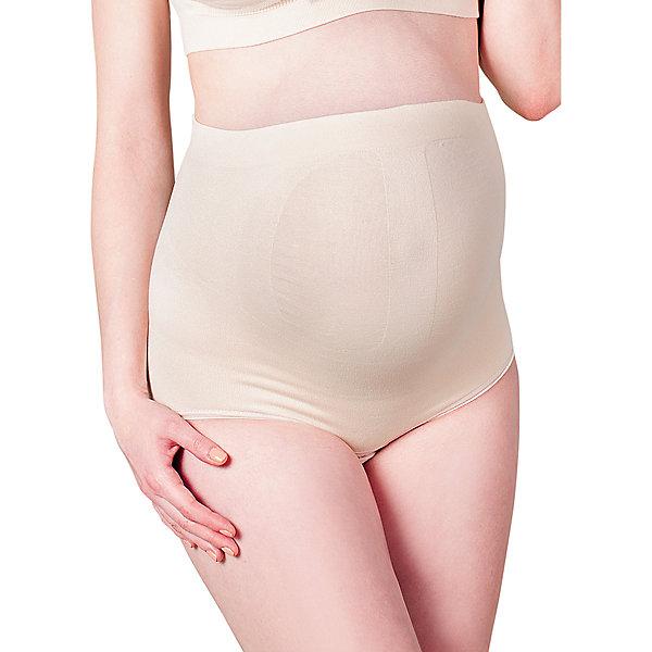 Трусы бесшовные для беременных ФЭСТНижнее белье<br>Пояс-трусы бесшовный для беременных женщин<br>Поддерживает живот, облегчает нагрузку на поясничный отдел и фиксирует область пупка.<br>Пояс-трусы эффективно снижает увеличивающуюся с ростом плода нагрузку на внутренние органы и позвоночник.<br>Позволяет вести более активный образ жизни.<br>Упругие косточки и широкая полоса плотного переплетения фиксируют поясничную область, тем самым снижая нагрузку на позвоночник.<br>Специальная усиленная вязка поддерживает живот.<br>Наличие удобной застежки снизу позволяет не снимать пояс-трусы при необходимости.<br><br><br><br>Состав: хлопок-62%, ПА-34%, эластан-4%<br>Ширина мм: 196; Глубина мм: 10; Высота мм: 154; Вес г: 152; Цвет: бежевый; Возраст от месяцев: 0; Возраст до месяцев: 1188; Пол: Женский; Возраст: Детский; Размер: 48,46,52,50,44; SKU: 4918100;