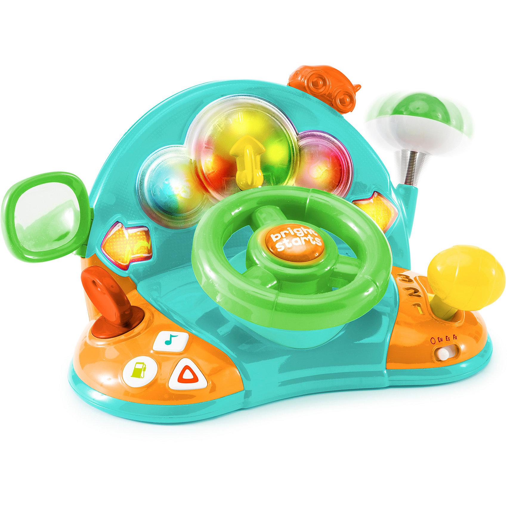 Bright Starts Развивающая игрушка «Маленький водитель», Bright Starts развивающая игрушка bright starts маленький водитель