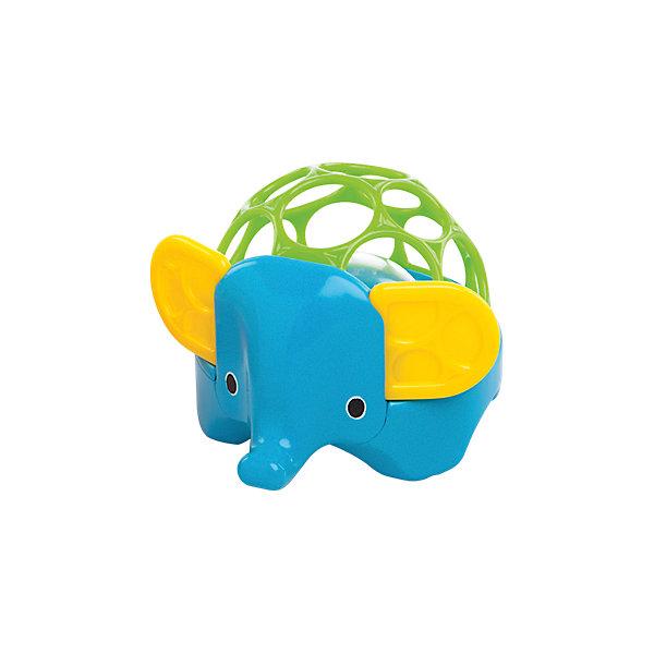 Погремушка Зоопарк. Слон, OballИгрушки для новорожденных<br>Погремушка «Зоопарк. Слон» от знаменитого американского бренда Oball (Обал). Яркая и веселая игрушка изготовлена из высококачественного пластика и сделает игру малыша еще интереснее! Специальные колечки сделаны для того, чтобы игрушку можно было держать маленькими пальчиками, а маленькие разноцветные шарики в центре начнуть звенеть, если потрясти игрушку. Игрушка поможет развить звуковое, цветовое и тактильное восприятие ребенка. <br>- Дополнительная информация:<br>- Материал: пластик<br>- Размер 14 * 12 * 9 см.<br><br>Погремушку «Зоопарк. Слон» Oball можно купить в нашем интернет-магазине.<br><br>Подробнее:<br>• Для детей в возрасте: от 0 месяцев до 1 года<br>• Номер товара: 4918373<br>Страна производитель: Китай<br>Ширина мм: 98; Глубина мм: 87; Высота мм: 122; Вес г: 183; Возраст от месяцев: 0; Возраст до месяцев: 36; Пол: Унисекс; Возраст: Детский; SKU: 4918373;