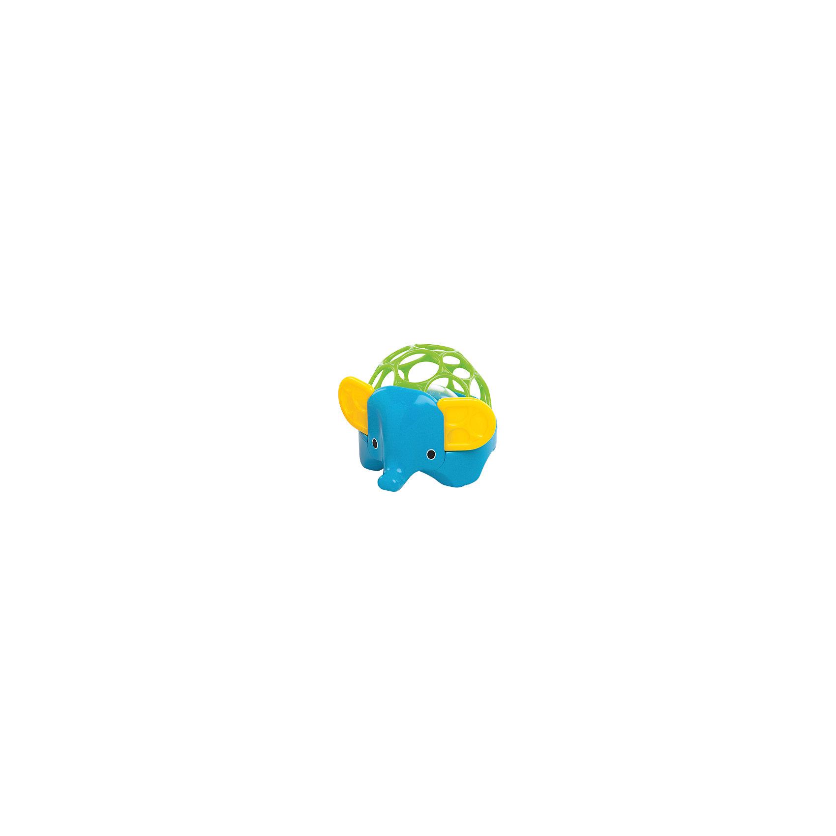 Погремушка Зоопарк. Слон, OballИгрушки для малышей<br>Погремушка «Зоопарк. Слон» от знаменитого американского бренда Oball (Обал). Яркая и веселая игрушка изготовлена из высококачественного пластика и сделает игру малыша еще интереснее! Специальные колечки сделаны для того, чтобы игрушку можно было держать маленькими пальчиками, а маленькие разноцветные шарики в центре начнуть звенеть, если потрясти игрушку. Игрушка поможет развить звуковое, цветовое и тактильное восприятие ребенка. <br>- Дополнительная информация:<br>- Материал: пластик<br>- Размер 14 * 12 * 9 см.<br><br>Погремушку «Зоопарк. Слон» Oball можно купить в нашем интернет-магазине.<br><br>Подробнее:<br>• Для детей в возрасте: от 0 месяцев до 1 года<br>• Номер товара: 4918373<br>Страна производитель: Китай<br><br>Ширина мм: 98<br>Глубина мм: 87<br>Высота мм: 122<br>Вес г: 183<br>Возраст от месяцев: 0<br>Возраст до месяцев: 36<br>Пол: Унисекс<br>Возраст: Детский<br>SKU: 4918373