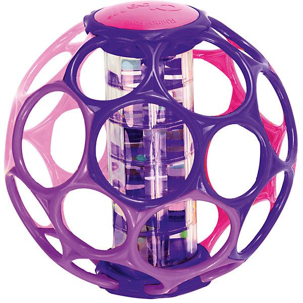 Мячик с погремушкой, розовый, OballИгрушки для новорожденных<br>Мячик с погремушкой, розовый от знаменитого американского бренда Oball (Обал). Яркая и веселая игрушка изготовлена из высококачественного пластика и сделает игру малыша еще интереснее! Специальные колечки мячика сделаны для того, чтобы игрушку можно было держать маленькими пальчиками, а маленькие разноцветные шарики в центре начнуть звенеть и перекатываться, если потрясти игрушку. Игрушка поможет развить звуковое, цветовое и тактильное восприятие ребенка. <br>- Дополнительная информация:<br>- Материал: пластик<br>- Размер 14 * 12 * 9 см.<br><br>Мячик с погремушкой, розовый, Oball можно купить в нашем интернет-магазине.<br><br>Подробнее:<br>• Для детей в возрасте: от 3 месяцев до 1 года<br>• Номер товара: 4918374<br>Страна производитель: Китай<br>Ширина мм: 158; Глубина мм: 185; Высота мм: 175; Вес г: 427; Возраст от месяцев: 3; Возраст до месяцев: 36; Пол: Унисекс; Возраст: Детский; SKU: 4918374;