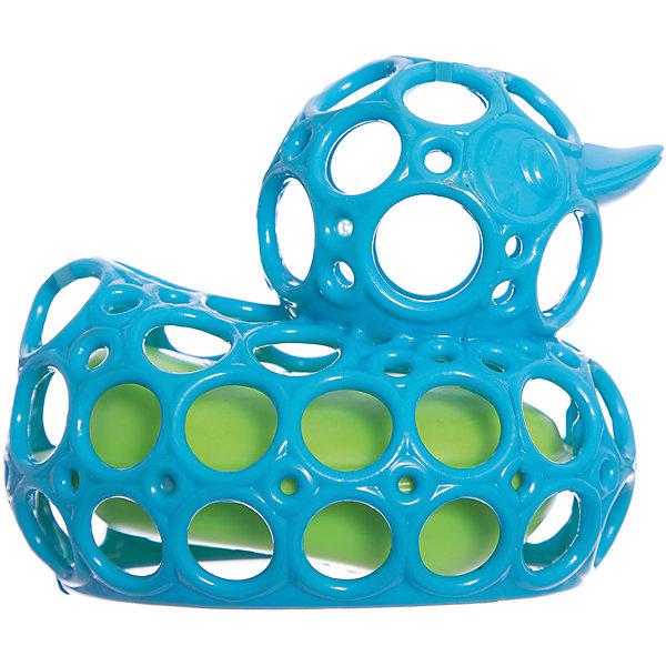Игрушка для ванны Уточка, голубая, OballИгрушки для ванной<br>Игрушка для ванны Уточка, голубая, от знаменитого американского бренда Oball (Обал). Яркая и веселая игрушка изготовлена из высококачественного пластика и сделает игру в ванной малыша еще интереснее! Специальные колечки уточки сделаны для того, чтобы игрушку можно было держать маленькими пальчиками, а сама уточка плавает если положить ее на воду. Игрушка поможет развить цветовое и тактильное восприятие ребенка. <br>- Дополнительная информация:<br>- Материал: пластик<br>- Размер 9 * 11 * 12 см.<br><br>Игрушку для ванны Уточка, голубая, Oball можно купить в нашем интернет-магазине.<br><br>Подробнее:<br>• Для детей в возрасте: от 3 месяцев до 1 года<br>• Номер товара: 4918376<br>Страна производитель: Китай<br>Ширина мм: 138; Глубина мм: 178; Высота мм: 76; Вес г: 60; Возраст от месяцев: 6; Возраст до месяцев: 36; Пол: Унисекс; Возраст: Детский; SKU: 4918376;
