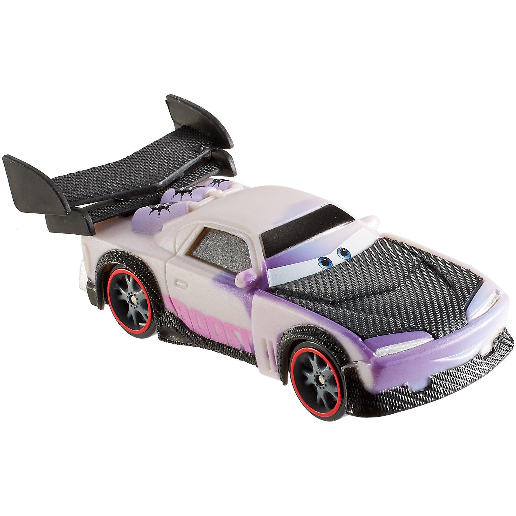 Машинка, меняющая цвет, ТачкиГоночные машинки и мотоциклы<br>Машинка, меняющая цвет, Тачки от Mattel (Маттел) ? герои любимого мультфильма Тачки представлены в новой уникальной серии Color Changers от Mattel. Машинка выполнена из высококачественного пластика, устойчивого к механическим повреждениям. У машины вращающиеся колеса и инерционный механизм. <br>Машинка выполнена в фиолетовом цвете главного героя Буста. При погружении в воду, корпус машинки меняет цвет, насыщенность цвета зависит от температуры воды.<br>Машинка, меняющая цвет, Тачки от Mattel (Маттел) позволит не только создать уникальный дизайн машинки, но и воспроизвести полюбившиеся сцены из мультфильма или придумать свою историю с главными героями.<br><br>Дополнительная информация:<br><br>- Вид игр: сюжетно-ролевые <br>- Предназначение: для дома<br>- Серия: Color Changers<br>- Материал: пластик<br>- Размер: 4,5*14*21,5 см<br>- Вес: 84 г <br>- Особенности ухода: разрешается мыть<br><br>Подробнее:<br><br>• Для детей в возрасте: от 3 лет и до 10 лет<br>• Страна производитель: Китай<br>• Торговый бренд: Mattel<br><br>Машинку, меняющую цвет, Тачки от Mattel (Маттел) можно купить в нашем интернет-магазине.<br><br>Ширина мм: 45<br>Глубина мм: 140<br>Высота мм: 215<br>Вес г: 84<br>Возраст от месяцев: 36<br>Возраст до месяцев: 120<br>Пол: Мужской<br>Возраст: Детский<br>SKU: 4918465