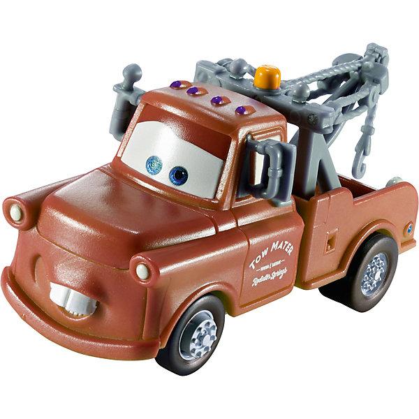 Машинка, меняющая цвет, ТачкиМашинки<br>Машинка, меняющая цвет, Тачки от Mattel (Маттел) ? герои любимого мультфильма Тачки представлены в новой уникальной серии Color Changers от Mattel. Машинка выполнена из высококачественного пластика, устойчивого к механическим повреждениям. У машины вращающиеся колеса и инерционный механизм. <br>Машинка Мэтр выполнена в коричнево-серых оттенках. При погружении в воду, корпус машинки меняет цвет, насыщенность цвета зависит от температуры воды.<br>Машинка, меняющая цвет, Тачки от Mattel (Маттел) позволит не только создать уникальный дизайн машинки, но и воспроизвести полюбившиеся сцены из мультфильма или придумать свою историю с главными героями.<br><br>Дополнительная информация:<br><br>- Вид игр: сюжетно-ролевые <br>- Предназначение: для дома<br>- Серия: Color Changers<br>- Материал: пластик<br>- Размер: 4,5*14*21,5 см<br>- Вес: 84 г <br>- Особенности ухода: разрешается мыть<br><br>Подробнее:<br><br>• Для детей в возрасте: от 3 лет и до 10 лет<br>• Страна производитель: Китай<br>• Торговый бренд: Mattel<br><br>Машинку, меняющую цвет, Тачки от Mattel (Маттел) можно купить в нашем интернет-магазине.<br>Ширина мм: 45; Глубина мм: 140; Высота мм: 215; Вес г: 84; Возраст от месяцев: 36; Возраст до месяцев: 120; Пол: Мужской; Возраст: Детский; SKU: 4918469;