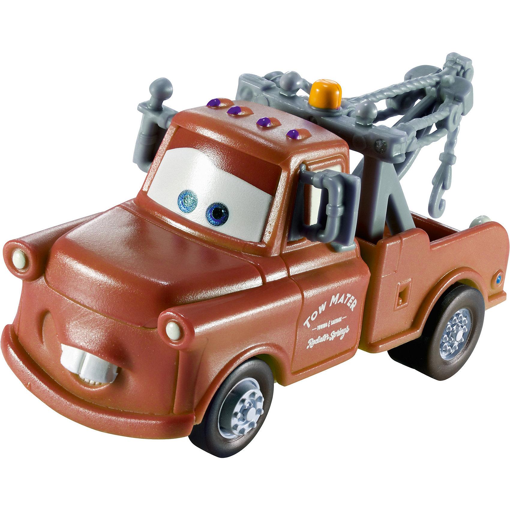 Машинка, меняющая цвет, ТачкиТачки Игрушки<br>Машинка, меняющая цвет, Тачки от Mattel (Маттел) ? герои любимого мультфильма Тачки представлены в новой уникальной серии Color Changers от Mattel. Машинка выполнена из высококачественного пластика, устойчивого к механическим повреждениям. У машины вращающиеся колеса и инерционный механизм. <br>Машинка Мэтр выполнена в коричнево-серых оттенках. При погружении в воду, корпус машинки меняет цвет, насыщенность цвета зависит от температуры воды.<br>Машинка, меняющая цвет, Тачки от Mattel (Маттел) позволит не только создать уникальный дизайн машинки, но и воспроизвести полюбившиеся сцены из мультфильма или придумать свою историю с главными героями.<br><br>Дополнительная информация:<br><br>- Вид игр: сюжетно-ролевые <br>- Предназначение: для дома<br>- Серия: Color Changers<br>- Материал: пластик<br>- Размер: 4,5*14*21,5 см<br>- Вес: 84 г <br>- Особенности ухода: разрешается мыть<br><br>Подробнее:<br><br>• Для детей в возрасте: от 3 лет и до 10 лет<br>• Страна производитель: Китай<br>• Торговый бренд: Mattel<br><br>Машинку, меняющую цвет, Тачки от Mattel (Маттел) можно купить в нашем интернет-магазине.<br><br>Ширина мм: 45<br>Глубина мм: 140<br>Высота мм: 215<br>Вес г: 84<br>Возраст от месяцев: 36<br>Возраст до месяцев: 120<br>Пол: Мужской<br>Возраст: Детский<br>SKU: 4918469
