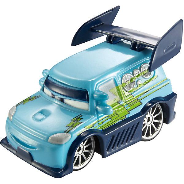 Машинка, меняющая цвет, ТачкиМашинки<br>Машинка, меняющая цвет, Тачки от Mattel (Маттел) ? герои любимого мультфильма Тачки представлены в новой уникальной серии Color Changers от Mattel. Машинка выполнена из высококачественного пластика, устойчивого к механическим повреждениям. У машины вращающиеся колеса и инерционный механизм. <br>Машинка Диджей выполнена в сочетании голубого корпуса с элементами из темно-синего цвета. При погружении в воду, корпус машинки меняет цвет, насыщенность цвета зависит от температуры воды.<br>Машинка, меняющая цвет, Тачки от Mattel (Маттел) позволит не только создать уникальный дизайн машинки, но и воспроизвести полюбившиеся сцены из мультфильма или придумать свою историю с главными героями.<br><br>Дополнительная информация:<br><br>- Вид игр: сюжетно-ролевые <br>- Предназначение: для дома<br>- Серия: Color Changers<br>- Материал: пластик<br>- Размер: 4,5*14*21,5 см<br>- Вес: 84 г <br>- Особенности ухода: разрешается мыть<br><br>Подробнее:<br><br>• Для детей в возрасте: от 3 лет и до 10 лет<br>• Страна производитель: Китай<br>• Торговый бренд: Mattel<br><br>Машинку, меняющую цвет, Тачки от Mattel (Маттел) можно купить в нашем интернет-магазине.<br>Ширина мм: 45; Глубина мм: 140; Высота мм: 215; Вес г: 84; Возраст от месяцев: 36; Возраст до месяцев: 120; Пол: Мужской; Возраст: Детский; SKU: 4918471;