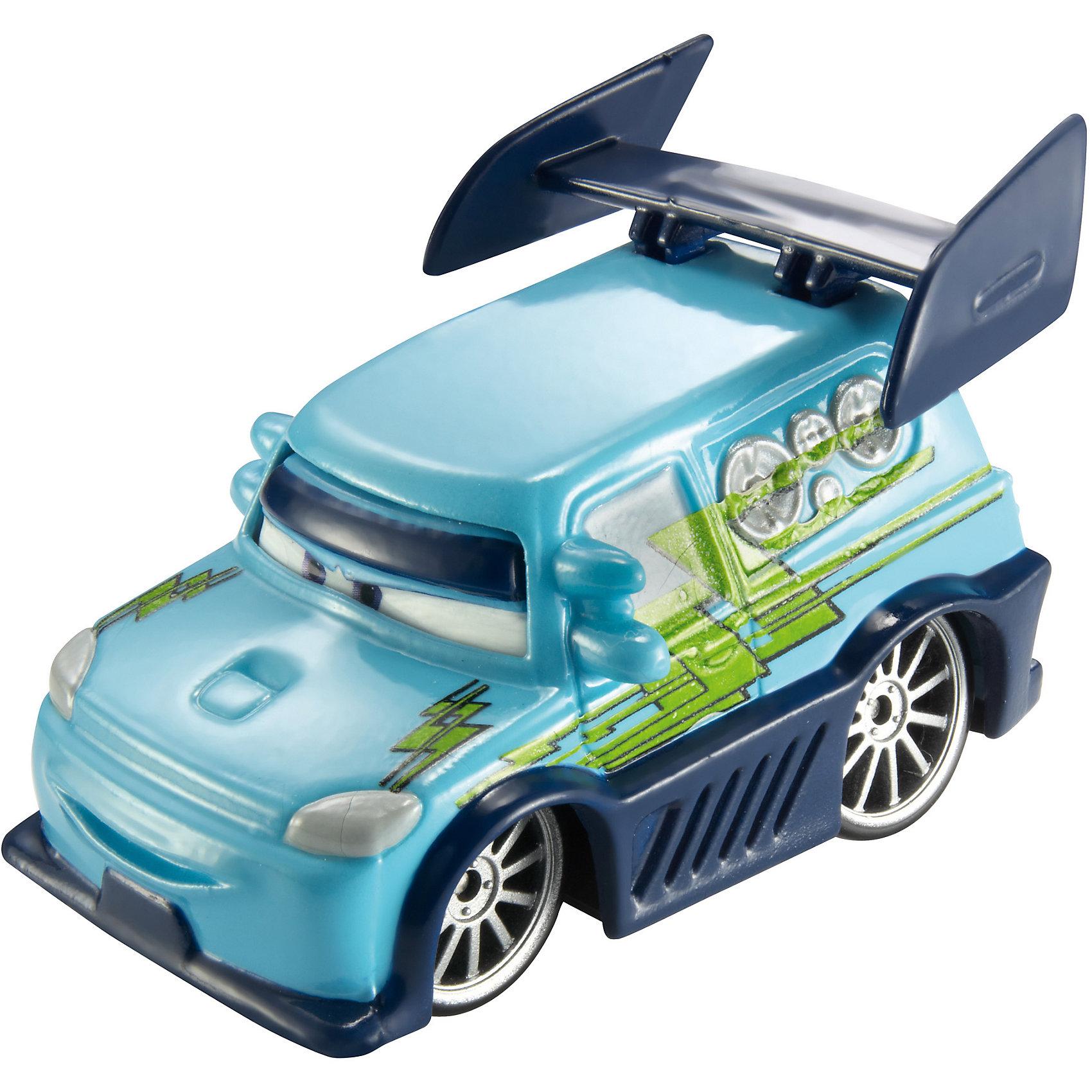 Машинка, меняющая цвет, ТачкиМашинка, меняющая цвет, Тачки от Mattel (Маттел) ? герои любимого мультфильма Тачки представлены в новой уникальной серии Color Changers от Mattel. Машинка выполнена из высококачественного пластика, устойчивого к механическим повреждениям. У машины вращающиеся колеса и инерционный механизм. <br>Машинка Диджей выполнена в сочетании голубого корпуса с элементами из темно-синего цвета. При погружении в воду, корпус машинки меняет цвет, насыщенность цвета зависит от температуры воды.<br>Машинка, меняющая цвет, Тачки от Mattel (Маттел) позволит не только создать уникальный дизайн машинки, но и воспроизвести полюбившиеся сцены из мультфильма или придумать свою историю с главными героями.<br><br>Дополнительная информация:<br><br>- Вид игр: сюжетно-ролевые <br>- Предназначение: для дома<br>- Серия: Color Changers<br>- Материал: пластик<br>- Размер: 4,5*14*21,5 см<br>- Вес: 84 г <br>- Особенности ухода: разрешается мыть<br><br>Подробнее:<br><br>• Для детей в возрасте: от 3 лет и до 10 лет<br>• Страна производитель: Китай<br>• Торговый бренд: Mattel<br><br>Машинку, меняющую цвет, Тачки от Mattel (Маттел) можно купить в нашем интернет-магазине.<br><br>Ширина мм: 45<br>Глубина мм: 140<br>Высота мм: 215<br>Вес г: 84<br>Возраст от месяцев: 36<br>Возраст до месяцев: 120<br>Пол: Мужской<br>Возраст: Детский<br>SKU: 4918471