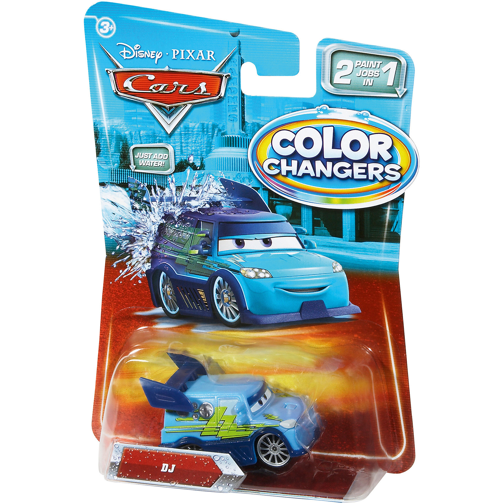 Машинка, меняющая цвет, Тачки от myToys