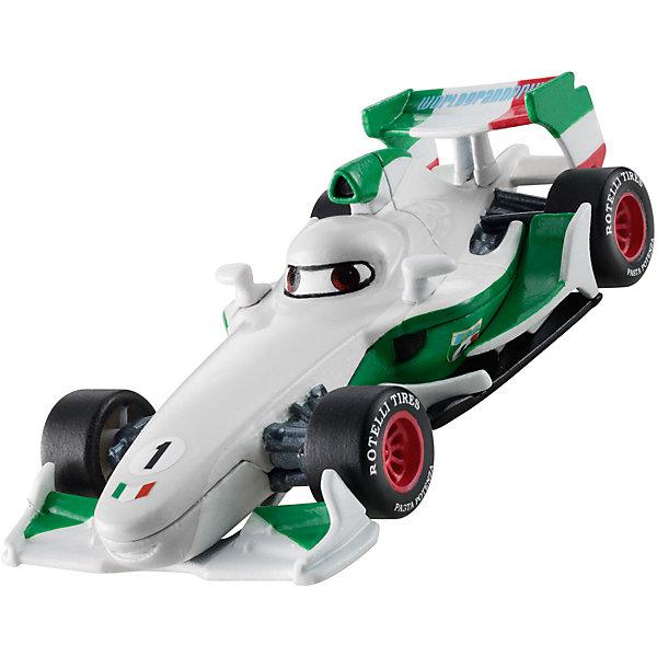 Машинка, меняющая цвет, ТачкиМашинки<br>Машинка, меняющая цвет, Тачки от Mattel (Маттел) ? герои любимого мультфильма Тачки представлены в новой уникальной серии Color Changers от Mattel. Машинка выполнена из высококачественного пластика, устойчивого к механическим повреждениям. У машины вращающиеся колеса и инерционный механизм. <br>Машинка Франческо выполнена в сочетании белого, красного, черного и зеленого цветов. При погружении в воду, корпус машинки меняет цвет, насыщенность цвета зависит от температуры воды.<br>Машинка, меняющая цвет, Тачки от Mattel (Маттел) позволит не только создать уникальный дизайн машинки, но и воспроизвести полюбившиеся сцены из мультфильма или придумать свою историю с главными героями.<br><br>Дополнительная информация:<br><br>- Вид игр: сюжетно-ролевые <br>- Предназначение: для дома<br>- Серия: Color Changers<br>- Материал: пластик<br>- Размер: 4,5*14*21,5 см<br>- Вес: 84 г <br>- Особенности ухода: разрешается мыть<br><br>Подробнее:<br><br>• Для детей в возрасте: от 3 лет и до 10 лет<br>• Страна производитель: Китай<br>• Торговый бренд: Mattel<br><br>Машинку, меняющую цвет, Тачки от Mattel (Маттел) можно купить в нашем интернет-магазине.<br><br>Ширина мм: 45<br>Глубина мм: 140<br>Высота мм: 215<br>Вес г: 84<br>Возраст от месяцев: 36<br>Возраст до месяцев: 120<br>Пол: Мужской<br>Возраст: Детский<br>SKU: 4918473