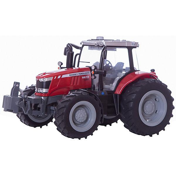 Трактор с подсветкой и звуком MASSEY FERGUSON 6613, TomyМашинки<br>Разнообразную технику обожает множество современных мальчишек, поэтому трактор, выглядящий почти как настоящий, обязательно порадует ребенка. Такие игрушки помогают детям развивать воображение, мелкую моторику, логику и творческое мышление.<br>Машина прекрасно детализирована, оснащена звуковыми и световыми эффектами. Мощные колеса проедут легко по любой поверхности, с трактором можно играть на улице. Игрушка очень прочная. Кабина открытая, что позволяет помесить туда своего рабочего. С такой игрушкой можно придумать множество игр!<br><br>Дополнительная информация:<br><br>цвет: разноцветный;<br>размер: 24 х 33 х 22 см;<br>материал: пластик;<br>вес: 1900 гр;<br>работает от батареек 3хААА;<br>световые и звуковые эффекты..<br><br>Трактор с подсветкой и звуком MASSEY FERGUSON 6613, Tomy можно купить в нашем магазине.<br><br>Ширина мм: 330<br>Глубина мм: 245<br>Высота мм: 220<br>Вес г: 1928<br>Возраст от месяцев: 36<br>Возраст до месяцев: 2147483647<br>Пол: Мужской<br>Возраст: Детский<br>SKU: 4918480