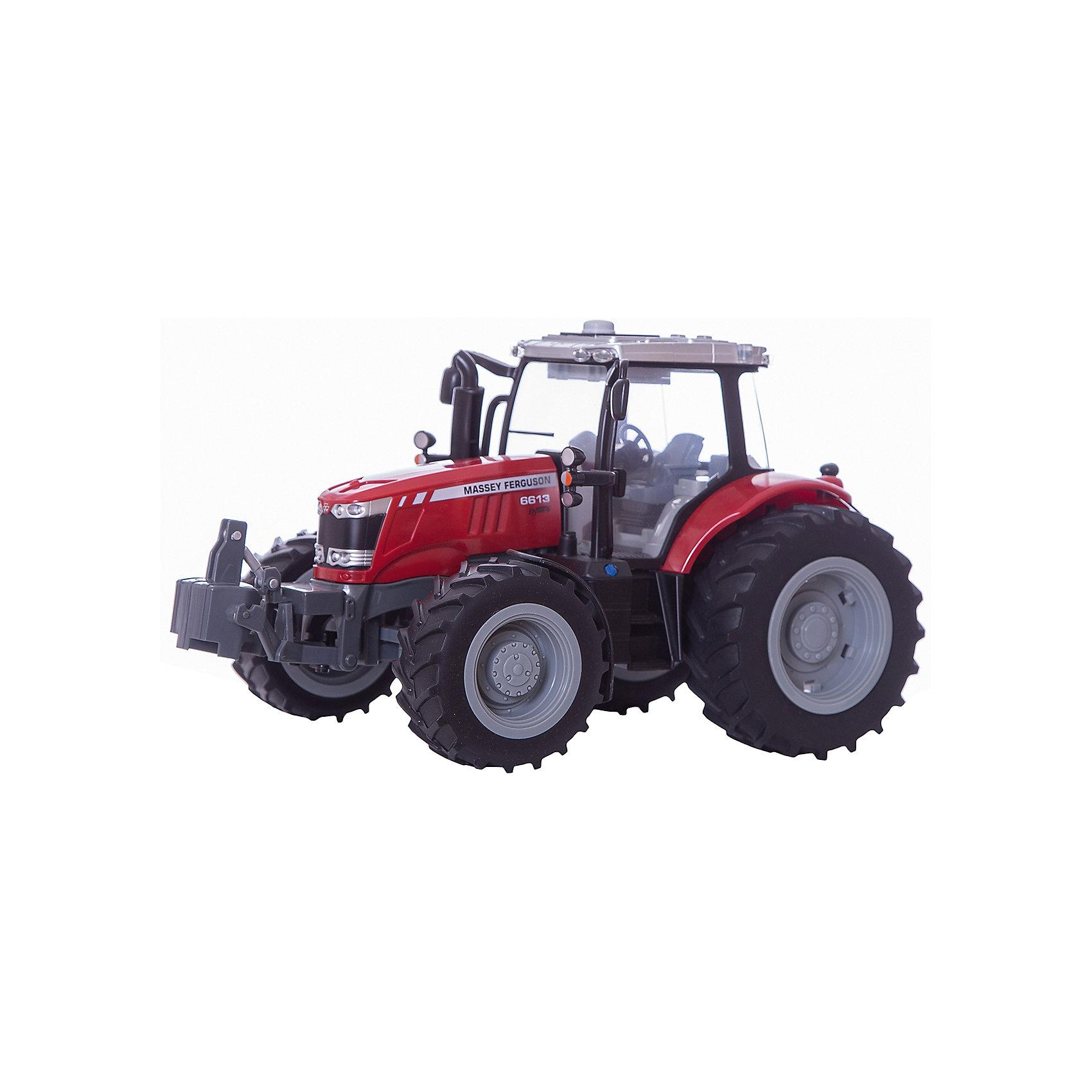 Трактор с подсветкой и звуком MASSEY FERGUSON 6613, TomyРазнообразную технику обожает множество современных мальчишек, поэтому трактор, выглядящий почти как настоящий, обязательно порадует ребенка. Такие игрушки помогают детям развивать воображение, мелкую моторику, логику и творческое мышление.<br>Машина прекрасно детализирована, оснащена звуковыми и световыми эффектами. Мощные колеса проедут легко по любой поверхности, с трактором можно играть на улице. Игрушка очень прочная. Кабина открытая, что позволяет помесить туда своего рабочего. С такой игрушкой можно придумать множество игр!<br><br>Дополнительная информация:<br><br>цвет: разноцветный;<br>размер: 24 х 33 х 22 см;<br>материал: пластик;<br>вес: 1900 гр;<br>работает от батареек 3хААА;<br>световые и звуковые эффекты..<br><br>Трактор с подсветкой и звуком MASSEY FERGUSON 6613, Tomy можно купить в нашем магазине.<br><br>Ширина мм: 330<br>Глубина мм: 245<br>Высота мм: 220<br>Вес г: 1928<br>Возраст от месяцев: 36<br>Возраст до месяцев: 2147483647<br>Пол: Мужской<br>Возраст: Детский<br>SKU: 4918480