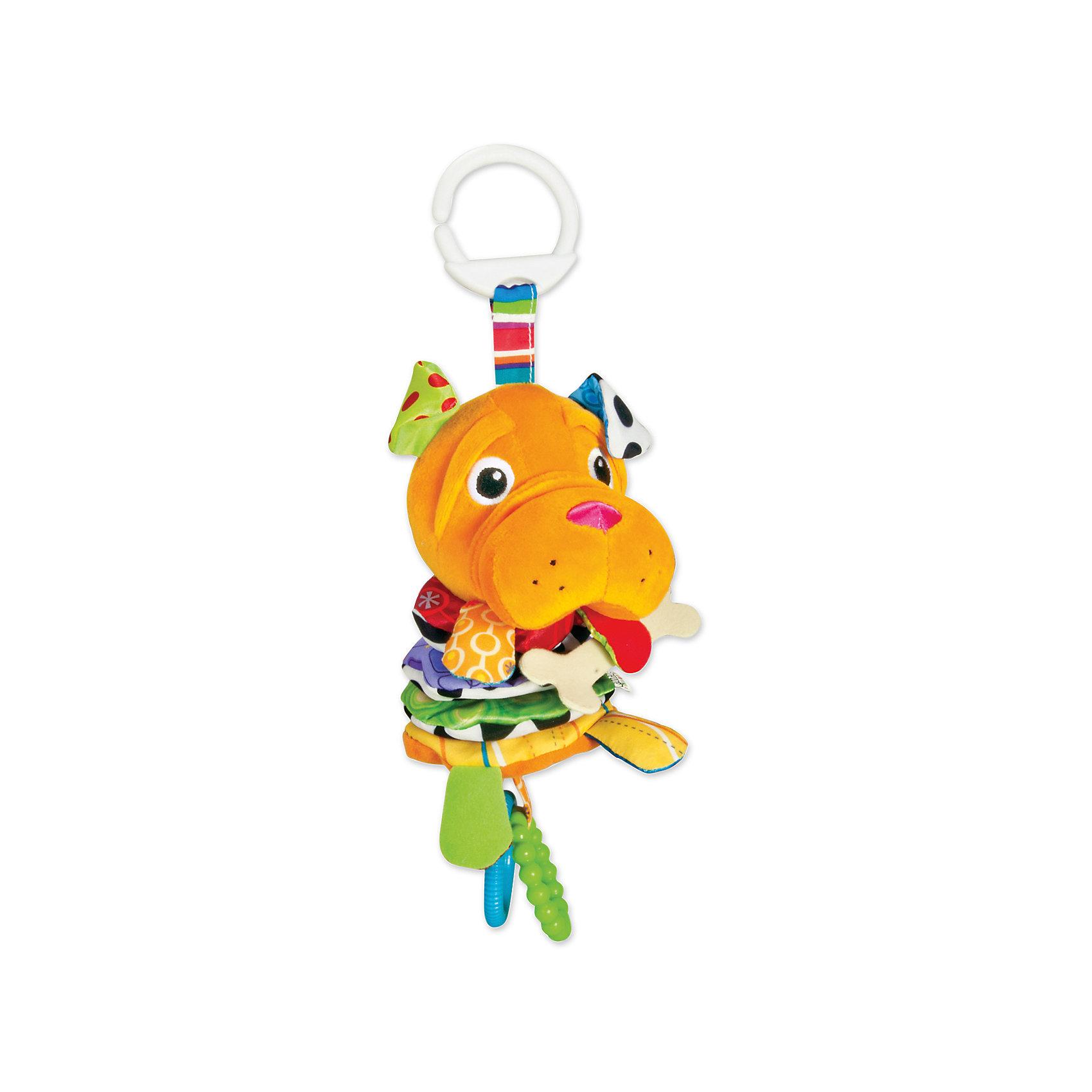 Мягкая погремушка-шуршалка Шарпей Шивер с подвеской, LamazeПогремушки<br>Симпатичная игрушка Шарпей Шивер обязательно понравится ребенку. Игрушка сделана из мягких материалов разной фактуры, что развивает тактильное восприятие ребенка. Она дополнена гремящими элементами, игрушку можно повесить в коляску с помощью специального крепления.<br>Этот Шарпей обязательно займет ребенка! Игра с ним помогает детям развивать мелкую моторику, внимательность и познавать мир. Обучающая игрушка сделана из качественных и безопасных для ребенка материалов.<br><br>Дополнительная информация:<br><br>цвет: разноцветный;<br>размер: 28 х 10 х 11 см;<br>материал: текстиль.<br><br>Мягкую погремушку-шуршалку Шарпей Шивер с подвеской, Tomy Lamazeможно купить в нашем магазине.<br><br>Ширина мм: 125<br>Глубина мм: 160<br>Высота мм: 100<br>Вес г: 155<br>Возраст от месяцев: -2147483648<br>Возраст до месяцев: 2147483647<br>Пол: Унисекс<br>Возраст: Детский<br>SKU: 4918487