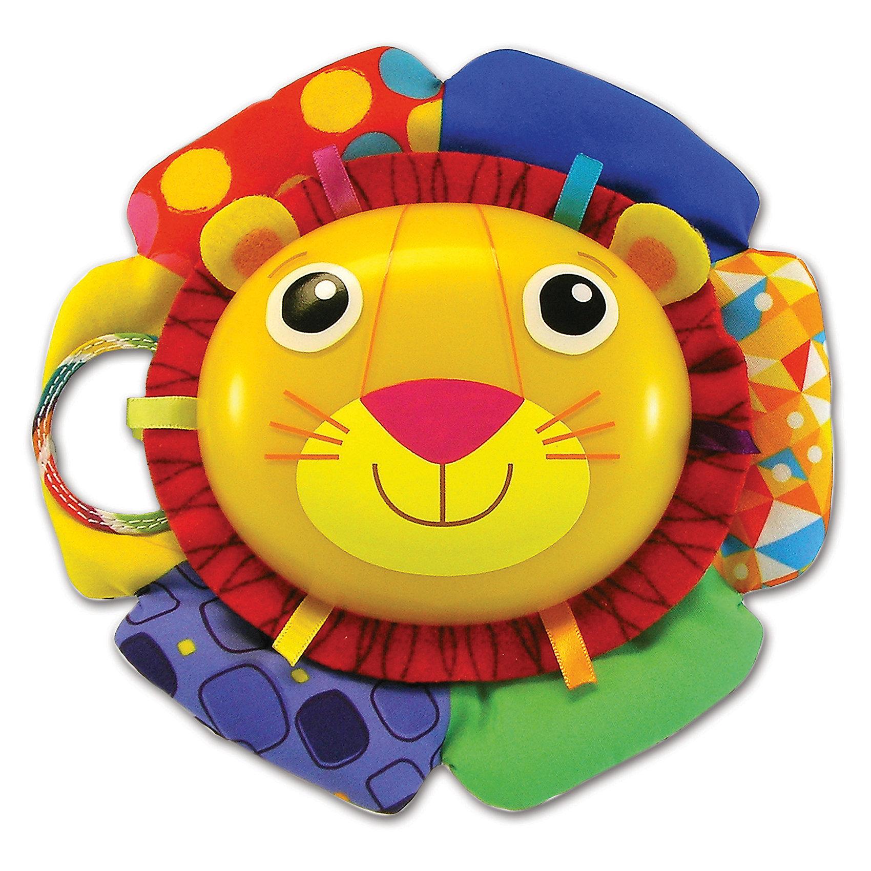 Музыкальная игра Лев Логан, звук-мелодия, LamazeДетские музыкальные инструменты<br>Малыши очень любознательны и общительны, они каждый день узнают что-то новое. Сделать процесс познавания мира для малышей - просто! Яркая игрушка в  виде льва поможет ребенку весело и с пользой провести время. Игрушка сделана из мягкого материала, что развивает тактильное восприятие ребенка. Оснащена звуковыми эффектами (играет мелодию), её можно крепить на кроватку. <br>Эта игрушка обязательно займет ребенка! Игра с ней помогает детям развивать мелкую моторику, внимательность и познавать мир. Игрушка сделана из качественных и безопасных для ребенка материалов.<br><br>Дополнительная информация:<br><br>цвет: разноцветный;<br>размер упаковки: 28 х 25 х 11 см;<br>материал: текстиль.<br><br>Музыкальную игру Лев Логан, звук-мелодия, Tomy Lamaze можно купить в нашем магазине.<br><br>Ширина мм: 280<br>Глубина мм: 255<br>Высота мм: 110<br>Вес г: 840<br>Возраст от месяцев: -2147483648<br>Возраст до месяцев: 2147483647<br>Пол: Унисекс<br>Возраст: Детский<br>SKU: 4918494