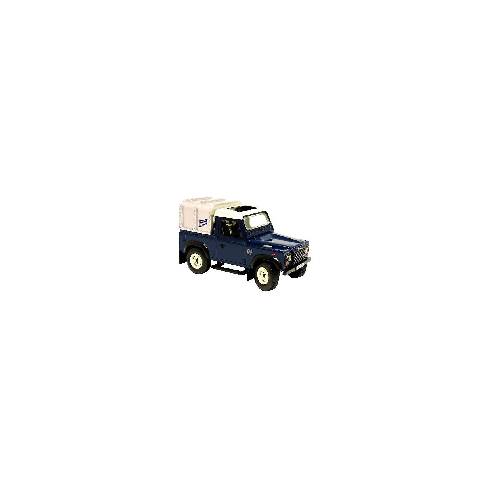Автомобиль Land Rover Defender, свет, звук, Tomy Britains Big Farm