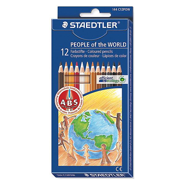 Карандаш цветные Noris Club Народы Мира, 12 цвПисьменные принадлежности<br>Это набор цветных карандашей, которые оставляют очень четкие и насыщенные линии. Они изготовлены специально для школы и детского творчества. Защитное покрытие грифеля повышает прочность изделия. Классическая шестигранная форма позволяет долго рисовать без устали. Набор не содержит вредных примесей и не вызывает аллергических реакций. Карандаш легко точится, имеет привлекательный дизайн и яркий лакированный корпус.<br><br>Дополнительная информация: <br><br>- возраст: от 3 лет<br>- тип: 12 цветных карандашей <br>- упаковка: картонная коробка<br>- вид карандаша: простой<br>- корпус: шестигранный<br>- поверхность: бумага<br>- назначение: для рисования, для творчества, для подчеркивания<br>- материал: дерево, грифель<br>- диаметр грифеля: 3 мм<br>- страна производитель: Германия.<br><br><br>Набор из 12 цветных  карандашей   Noris HB  торговой марки   Staedtler  можно купить в нашем интернет-магазине.<br><br>Ширина мм: 198<br>Глубина мм: 178<br>Высота мм: 50<br>Вес г: 73<br>Возраст от месяцев: 60<br>Возраст до месяцев: 168<br>Пол: Унисекс<br>Возраст: Детский<br>SKU: 4918513