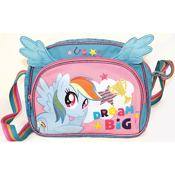 Gulliver Сумочка детская  My Little Pony  с крылышкамиДетские сумки<br>Героев мультфильма My Little Pony обожает большинство современных девочек. Сумочка с их изображением и крылышками станет желанным подарком для ребенка. Это изделие отлично сшито. Материал - прочный и износостойкий, швы - качественные. <br>Лямку можно регулировать. В рюкзаке есть большое отделение и передний карман на молнии. Это вместительная и симпатичная модель, обеспечивающая ребенку комфорт.<br><br>Дополнительная информация:<br><br>цвет: розовый, голубой;<br>материал: текстиль.<br><br>Сумочку детскую My Little Pony с крылышками от компании Gulliver можно купить в нашем магазине.<br>Ширина мм: 240; Глубина мм: 100; Высота мм: 270; Вес г: 265; Возраст от месяцев: 36; Возраст до месяцев: 2147483647; Пол: Женский; Возраст: Детский; SKU: 4918576;