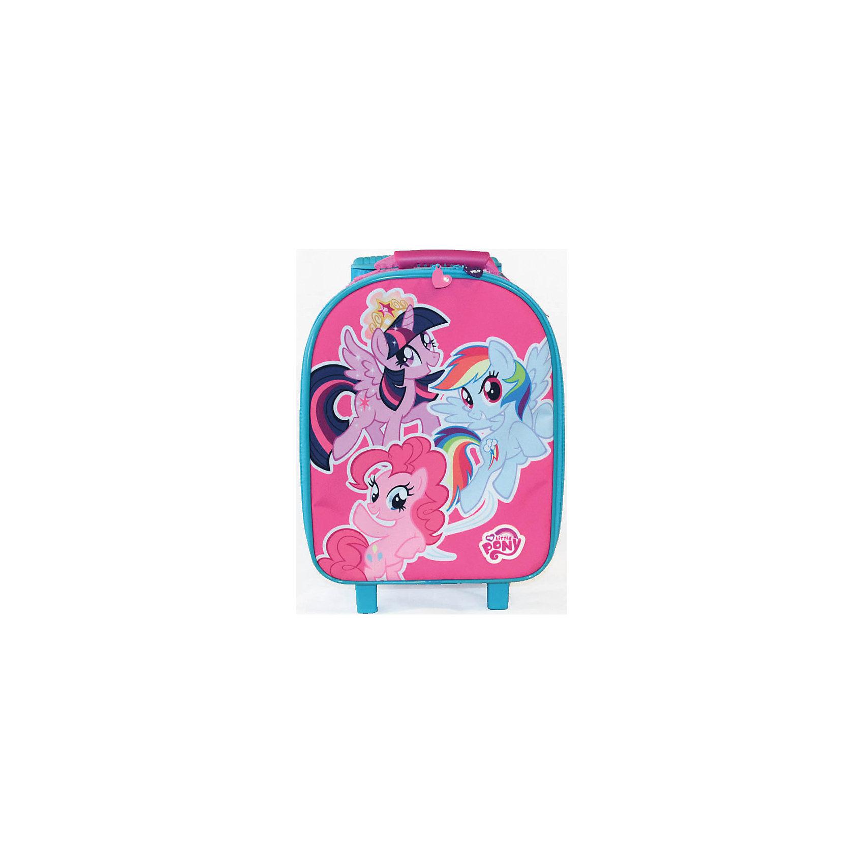 Gulliver Сумка на колесах My little Pony чемоданы cagia чемодан на колесах малый 180122