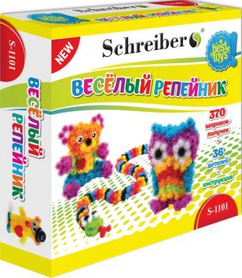 Schreiber Конструктор-липучка Веселый репейник (406 деталей)
