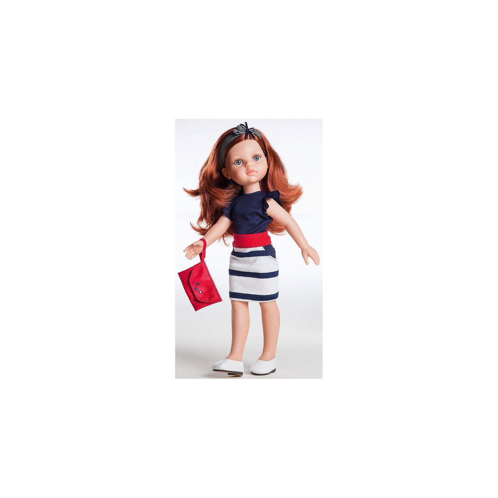 Кукла Кристи, 32 смДевочки обожают играть в куклы. Это не только весело, но и помогает развить ключевые социальные навыки! Кукла Кристи с длинными волосами, которые можно расчесывать, приведет в восторг любую девочку! Она сделана из высококачественного винила, одета в модный наряд. Её конечности подвижны,<br>а губы, щечки, веснушки и волосы – полностью ручная работа. Кукла приятно пахнет ванилью.<br>Эта кукла обязательно порадует ребенка! Он станет отличным подарком и поможет девочке развивать свою фантазию и мелкую моторику. Игрушка сделана из качественных и безопасных для ребенка материалов.<br><br>Дополнительная информация:<br><br>цвет: разноцветный;<br>высота: 32 см;<br>вес: 667 г;<br>комплектация: кукла, одежда, аксессуары;<br>материал: винил.<br><br>Куклу Кристи, 32 см можно купить в нашем магазине.<br><br>Ширина мм: 11<br>Глубина мм: 23<br>Высота мм: 41<br>Вес г: 667<br>Возраст от месяцев: 36<br>Возраст до месяцев: 144<br>Пол: Женский<br>Возраст: Детский<br>SKU: 4918670
