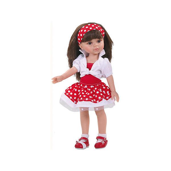 Кукла Карол, 32смКуклы<br>Игра в куклы - это не только весело, но и помогает развить ключевые социальные навыки! Кукла Карол с длинными волосами, которые можно расчесывать, приведет в восторг любую девочку! Она сделана из высококачественного винила, одета в модный наряд. Её конечности подвижны,<br>а губы, щечки, веснушки и волосы – полностью ручная работа. Кукла приятно пахнет ванилью.<br>Эта кукла обязательно порадует ребенка! Он станет отличным подарком и поможет девочке развивать свою фантазию и мелкую моторику. Игрушка сделана из качественных и безопасных для ребенка материалов.<br><br>Дополнительная информация:<br><br>цвет: разноцветный;<br>высота: 32 см;<br>вес: 667 г;<br>комплектация: кукла, одежда, аксессуары;<br>материал: винил.<br><br>Куклу Карол, 32 см можно купить в нашем магазине.<br><br>Ширина мм: 11<br>Глубина мм: 23<br>Высота мм: 41<br>Вес г: 667<br>Возраст от месяцев: 36<br>Возраст до месяцев: 144<br>Пол: Женский<br>Возраст: Детский<br>SKU: 4918671