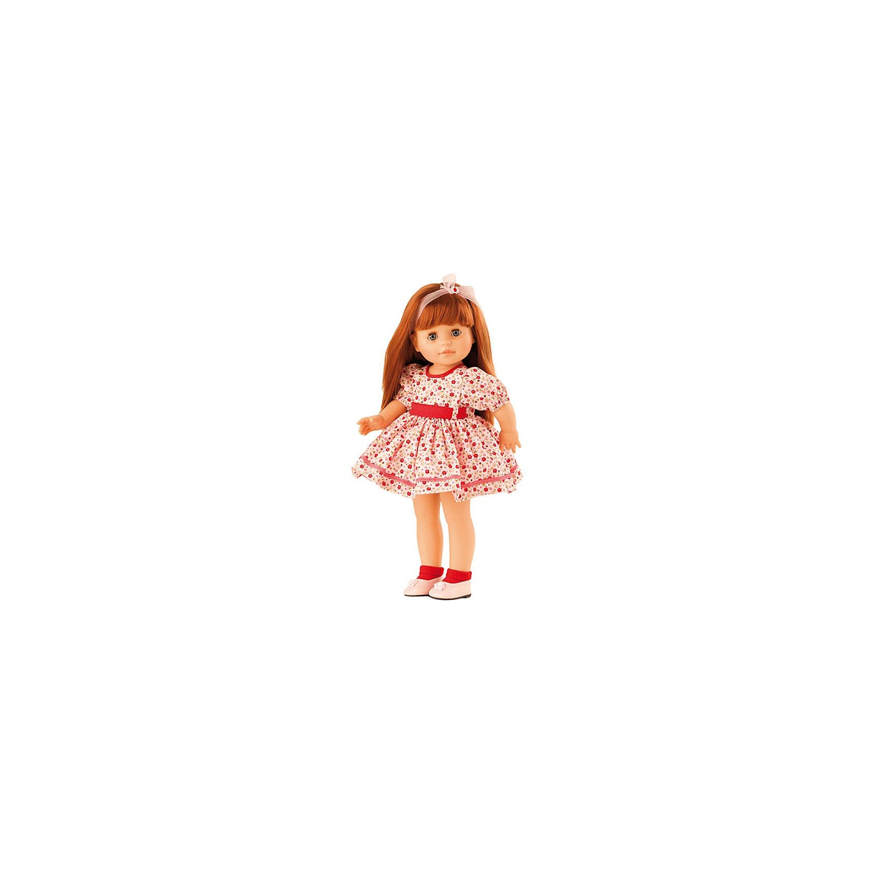 Кукла Бекка, 40 смБренды кукол<br>Девочки обожают играть в куклы. Это не только весело, но и помогает развить ключевые социальные навыки! Кукла Бекка с длинными волосами, которые можно расчесывать, приведет в восторг любую девочку! Она сделана из высококачественного винила, одета в модный наряд. Её конечности подвижны,<br>а губы, щечки, веснушки и волосы – полностью ручная работа. Кукла приятно пахнет ванилью.<br>Эта кукла обязательно порадует ребенка! Он станет отличным подарком и поможет девочке развивать свою фантазию и мелкую моторику. Игрушка сделана из качественных и безопасных для ребенка материалов.<br><br>Дополнительная информация:<br><br>цвет: разноцветный;<br>высота: 40 см;<br>вес: 1333 г;<br>комплектация: кукла, одежда, аксессуары;<br>материал: винил.<br><br>Куклу Бекка, 40 см можно купить в нашем магазине.<br><br>Ширина мм: 25<br>Глубина мм: 12<br>Высота мм: 50<br>Вес г: 1333<br>Возраст от месяцев: 36<br>Возраст до месяцев: 144<br>Пол: Женский<br>Возраст: Детский<br>SKU: 4918672
