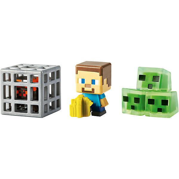 Набор из 3х фигурок  MinecraftКоллекционные и игровые фигурки<br>Все поклонники известной игры придут в восторг от такого набора. Игрушки прекрасно детализированы, очень похожи на персонажей Майнкрафт. Сделанные в 8-битном стиле, как и игра, эти фигурки позволят вашим детям играть с их любимыми персонажами где угодно!  Собери все фигурки и преврати игру в реальность!<br><br>Дополнительная информация:<br><br>- Материал: пластик.<br>- Конечности, голова некоторых фигурок подвижные.<br>- Размер фигурки: 6 см. <br><br><br>Набор из 3х фигурок  Minecraft (Майнкрафт), можно купить в нашем магазине.<br><br>Ширина мм: 166<br>Глубина мм: 137<br>Высота мм: 30<br>Вес г: 37<br>Возраст от месяцев: 36<br>Возраст до месяцев: 96<br>Пол: Мужской<br>Возраст: Детский<br>SKU: 4918739