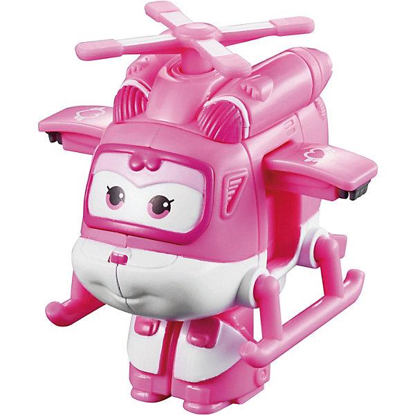 Мини-трансформер Диззи, Супер КрыльяФигурки из мультфильмов<br>Какой ребенок не любит самолеты!? Сделать игру ярче и увлекательнее поможет герой популярного мультфильма Супер Крылья, любимого детьми. Игрушка всего за несколько мгновений трансформируется из самолета в робота. К нему можно также фигурки-трансформеры заказать друзей из этого мультфильма! Компактный размер позволит ребенку брать игрушку с собой в гости или на прогулку.                <br>Этот трансформер обязательно порадует ребенка! Игры с ним также помогают детям развивать воображение, логику, мелкую моторику и творческое мышление. Самолет сделан из качественных и безопасных для ребенка материалов.<br><br>Дополнительная информация:<br><br>цвет: разноцветный;<br>размер упаковки: 12 х 15 х 6 см;<br>вес: 300 г;<br>материал: пластик.<br><br>Игрушку Мини-трансформер Диззи можно купить в нашем магазине.<br>Ширина мм: 120; Глубина мм: 155; Высота мм: 62; Вес г: 300; Возраст от месяцев: 36; Возраст до месяцев: 2147483647; Пол: Мужской; Возраст: Детский; SKU: 4918772;