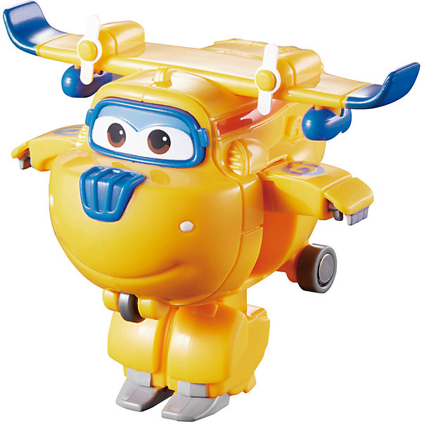 Мини-трансформер Донни, Супер КрыльяТрансформеры-игрушки<br>Играть с самолетами любит практически каждый ребенок. Сделать игру ярче и увлекательнее поможет герой популярного мультфильма Супер Крылья, любимого детьми. Игрушка всего за несколько мгновений трансформируется из самолета в робота. К нему можно также фигурки-трансформеры заказать друзей из этого мультфильма! Компактный размер позволит ребенку брать игрушку с собой в гости или на прогулку.                <br>Этот трансформер обязательно порадует ребенка! Игры с ним также помогают детям развивать воображение, логику, мелкую моторику и творческое мышление. Самолет сделан из качественных и безопасных для ребенка материалов.<br><br>Дополнительная информация:<br><br>цвет: разноцветный;<br>размер упаковки: 12 х 15 х 6 см;<br>вес: 300 г;<br>материал: пластик.<br><br>Игрушку Мини-трансформер Донни можно купить в нашем магазине.<br><br>Ширина мм: 120<br>Глубина мм: 155<br>Высота мм: 62<br>Вес г: 300<br>Возраст от месяцев: 36<br>Возраст до месяцев: 2147483647<br>Пол: Мужской<br>Возраст: Детский<br>SKU: 4918773