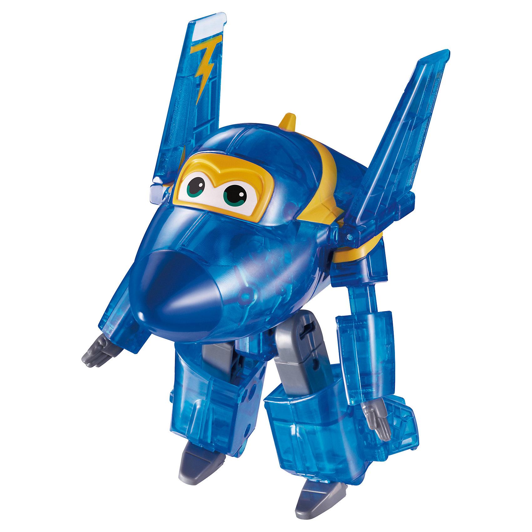 Трансформер Джером, Супер КрыльяИграть с самолетами любит практически каждый ребенок. Сделать игру ярче и увлекательнее поможет герой популярного мультфильма Супер Крылья, любимого детьми. Игрушка всего за несколько мгновений трансформируется из самолета в робота. К нему можно также фигурки-трансформеры заказать друзей из этого мультфильма! Компактный размер позволит ребенку брать игрушку с собой в гости или на прогулку.                <br>Этот трансформер обязательно порадует ребенка! Игры с ним также помогают детям развивать воображение, логику, мелкую моторику и творческое мышление. Самолет сделан из качественных и безопасных для ребенка материалов.<br><br>Дополнительная информация:<br><br>цвет: разноцветный;<br>размер упаковки: 13 х 16 х 7 см;<br>вес: 400 г;<br>материал: пластик.<br><br>Игрушку Трансформер Джером можно купить в нашем магазине.<br><br>Ширина мм: 130<br>Глубина мм: 160<br>Высота мм: 70<br>Вес г: 400<br>Возраст от месяцев: 36<br>Возраст до месяцев: 2147483647<br>Пол: Мужской<br>Возраст: Детский<br>SKU: 4918777