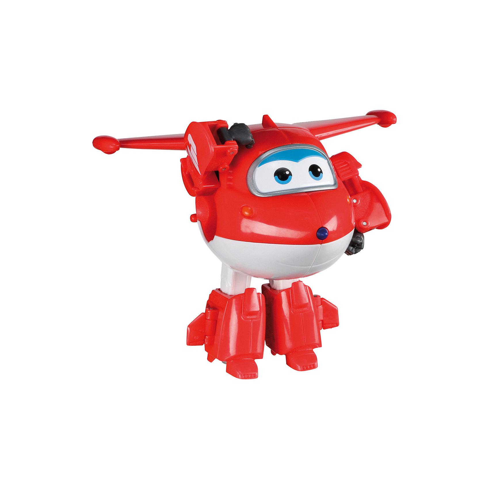 Трансформер Джетт, Супер КрыльяКакой ребенок не любит самолеты!? Сделать игру ярче и увлекательнее поможет герой популярного мультфильма Супер Крылья, любимого детьми. Игрушка всего за несколько мгновений трансформируется из самолета в робота. К нему можно также фигурки-трансформеры заказать друзей из этого мультфильма! Компактный размер позволит ребенку брать игрушку с собой в гости или на прогулку.                <br>Этот трансформер обязательно порадует ребенка! Игры с ним также помогают детям развивать воображение, логику, мелкую моторику и творческое мышление. Самолет сделан из качественных и безопасных для ребенка материалов.<br><br>Дополнительная информация:<br><br>цвет: разноцветный;<br>размер упаковки: 13 х 16 х 7 см;<br>вес: 400 г;<br>материал: пластик.<br><br>Игрушку Трансформер Джетт можно купить в нашем магазине.<br><br>Ширина мм: 130<br>Глубина мм: 160<br>Высота мм: 70<br>Вес г: 400<br>Возраст от месяцев: 36<br>Возраст до месяцев: 2147483647<br>Пол: Мужской<br>Возраст: Детский<br>SKU: 4918778