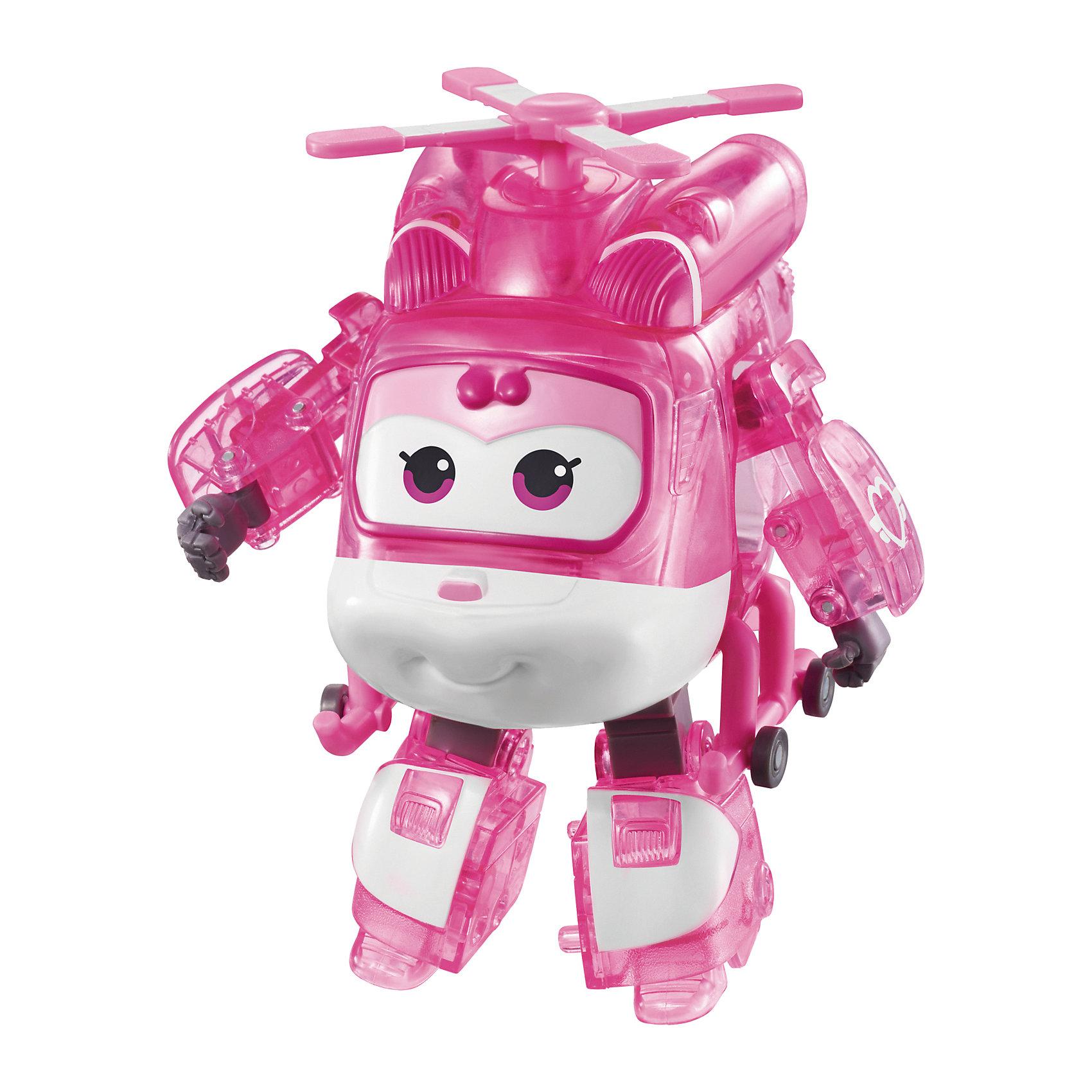 Трансформер Диззи, Супер КрыльяИграть с самолетами любит практически каждый ребенок. Сделать игру ярче и увлекательнее поможет герой популярного мультфильма Супер Крылья, любимого детьми. Игрушка всего за несколько мгновений трансформируется из самолета в робота. К нему можно также фигурки-трансформеры заказать друзей из этого мультфильма! Компактный размер позволит ребенку брать игрушку с собой в гости или на прогулку.                <br>Этот трансформер обязательно порадует ребенка! Игры с ним также помогают детям развивать воображение, логику, мелкую моторику и творческое мышление. Самолет сделан из качественных и безопасных для ребенка материалов.<br><br>Дополнительная информация:<br><br>цвет: разноцветный;<br>размер упаковки: 13 х 16 х 7 см;<br>вес: 400 г;<br>материал: пластик.<br><br>Игрушку Трансформер Диззи можно купить в нашем магазине.<br><br>Ширина мм: 130<br>Глубина мм: 160<br>Высота мм: 70<br>Вес г: 400<br>Возраст от месяцев: 36<br>Возраст до месяцев: 2147483647<br>Пол: Мужской<br>Возраст: Детский<br>SKU: 4918779