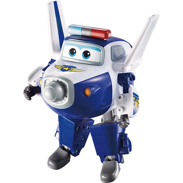 Трансформер Пол, Супер КрыльяФигурки из мультфильмов<br>Играть с самолетами любит практически каждый ребенок. Сделать игру ярче и увлекательнее поможет герой популярного мультфильма Супер Крылья, любимого детьми. Игрушка всего за несколько мгновений трансформируется из самолета в робота. К нему можно также фигурки-трансформеры заказать друзей из этого мультфильма! Компактный размер позволит ребенку брать игрушку с собой в гости или на прогулку.                <br>Этот трансформер обязательно порадует ребенка! Игры с ним также помогают детям развивать воображение, логику, мелкую моторику и творческое мышление. Самолет сделан из качественных и безопасных для ребенка материалов.<br><br>Дополнительная информация:<br><br>цвет: разноцветный;<br>размер упаковки: 13 х 16 х 7 см;<br>вес: 400 г;<br>материал: пластик.<br><br>Игрушку Трансформер Пол можно купить в нашем магазине.<br>Ширина мм: 130; Глубина мм: 160; Высота мм: 70; Вес г: 400; Возраст от месяцев: 36; Возраст до месяцев: 2147483647; Пол: Мужской; Возраст: Детский; SKU: 4918781;