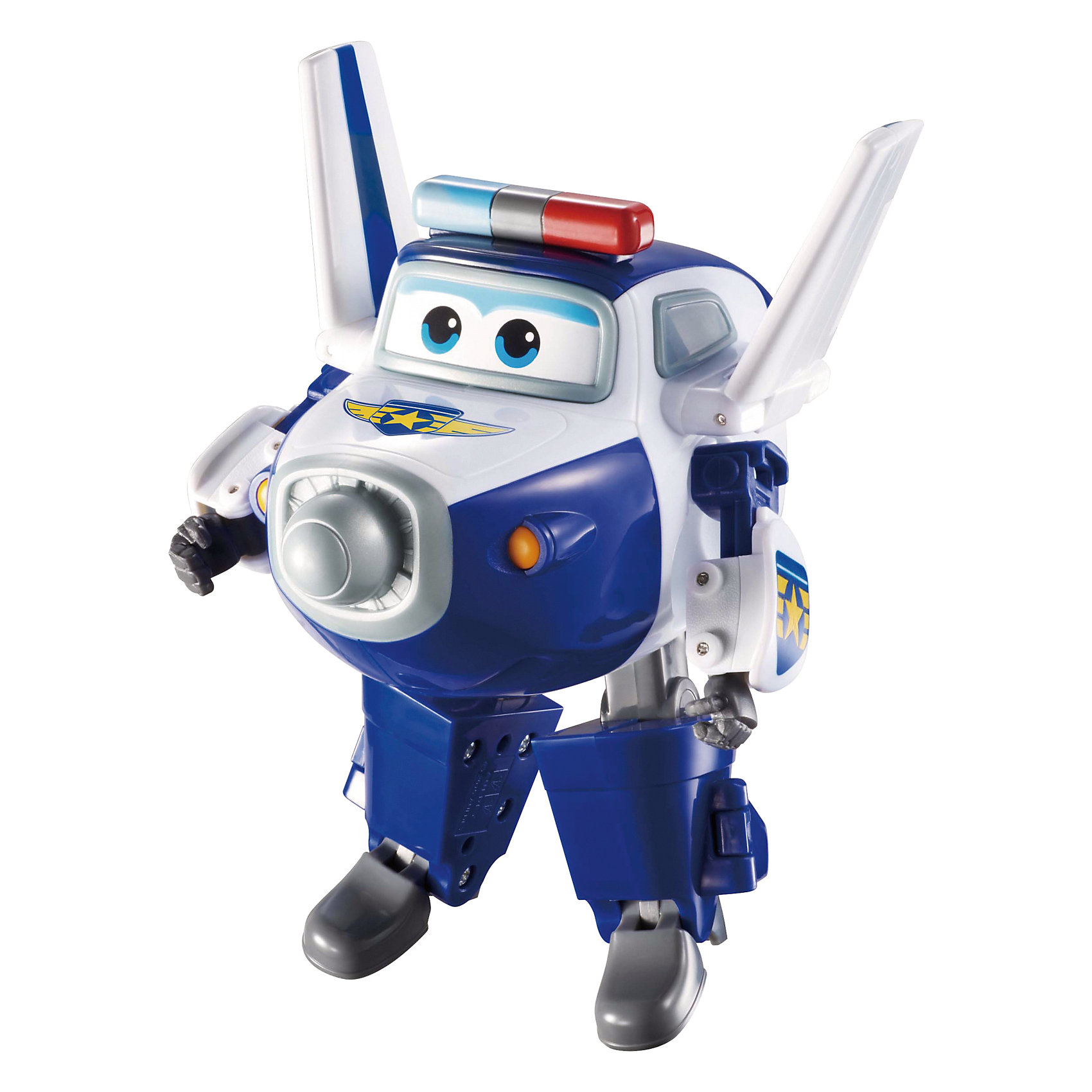 Трансформер Пол, Супер КрыльяИграть с самолетами любит практически каждый ребенок. Сделать игру ярче и увлекательнее поможет герой популярного мультфильма Супер Крылья, любимого детьми. Игрушка всего за несколько мгновений трансформируется из самолета в робота. К нему можно также фигурки-трансформеры заказать друзей из этого мультфильма! Компактный размер позволит ребенку брать игрушку с собой в гости или на прогулку.                <br>Этот трансформер обязательно порадует ребенка! Игры с ним также помогают детям развивать воображение, логику, мелкую моторику и творческое мышление. Самолет сделан из качественных и безопасных для ребенка материалов.<br><br>Дополнительная информация:<br><br>цвет: разноцветный;<br>размер упаковки: 13 х 16 х 7 см;<br>вес: 400 г;<br>материал: пластик.<br><br>Игрушку Трансформер Пол можно купить в нашем магазине.<br><br>Ширина мм: 130<br>Глубина мм: 160<br>Высота мм: 70<br>Вес г: 400<br>Возраст от месяцев: 36<br>Возраст до месяцев: 2147483647<br>Пол: Мужской<br>Возраст: Детский<br>SKU: 4918781