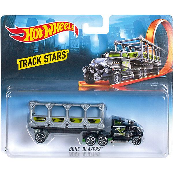 Трейлер базовой коллекции, Hot WheelsМашинки<br>«Трейлер» базовой комплектации, Hot Wheels (Хот Вилс) – потрясающе реалистичный грузовик-трейлер, который придется по душе любому мальчишке.  Трейлер выполнен из металла, а значит сможет выдержать любые испытания, которые приготовит для него Ваш ребенок. В трейлерах-грузовиках Hot Wheels (Хот Вилс) есть возможность менять прицепы, что позволяет каждый раз создавать новые комбинации.  <br><br>Дополнительная информация: <br><br>- Материал: пластик <br>- Длина: около 28 см  <br><br>«Трейлер» базовой комплектации, Hot Wheels (Хот Вилс) – прекрасный подарок для Вашего ребенка. Ему непременно захочется собрать всю коллекцию и каждый раз создавать новый вид трейлеров.  <br><br>«Трейлер» базовой комплектации, Hot Wheels (Хот Вилс) можно купить в нашем магазине.<br>Ширина мм: 40; Глубина мм: 130; Высота мм: 110; Вес г: 126; Возраст от месяцев: 48; Возраст до месяцев: 96; Пол: Мужской; Возраст: Детский; SKU: 4918786;