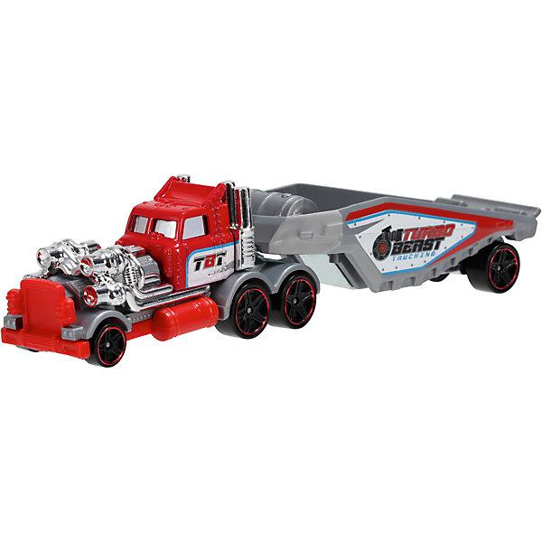 Трейлер базовой коллекции, Hot WheelsМашинки<br>«Трейлер» базовой комплектации, Hot Wheels (Хот Вилс) – потрясающе реалистичный грузовик-трейлер, который придется по душе любому мальчишке.  Трейлер выполнен из металла, а значит сможет выдержать любые испытания, которые приготовит для него Ваш ребенок. В трейлерах-грузовиках Hot Wheels (Хот Вилс) есть возможность менять прицепы, что позволяет каждый раз создавать новые комбинации.  <br><br>Дополнительная информация: <br><br>- Материал: пластик <br>- Длина: около 28 см  <br><br>«Трейлер» базовой комплектации, Hot Wheels (Хот Вилс) – прекрасный подарок для Вашего ребенка. Ему непременно захочется собрать всю коллекцию и каждый раз создавать новый вид трейлеров.  <br><br>«Трейлер» базовой комплектации, Hot Wheels (Хот Вилс) можно купить в нашем магазине.<br>Ширина мм: 40; Глубина мм: 130; Высота мм: 110; Вес г: 126; Возраст от месяцев: 48; Возраст до месяцев: 96; Пол: Мужской; Возраст: Детский; SKU: 4918788;