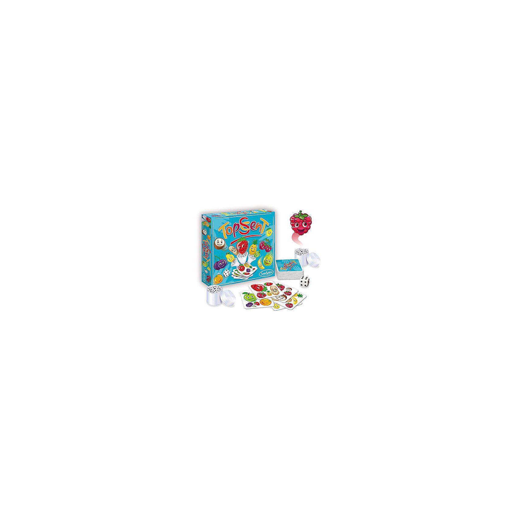Настольная игра запахов ФруктерияНастольная игра запахов Фруктерия – это развивающая настольная игра с восхитительными ароматами фруктов и ягод.<br>Необычная настольная игра Фруктерия – это лото с ароматами фруктов и ягод. Она подарит всей семье много интересных и занимательных вечеров. В комплекте 12 баночек с различными ароматами, 96 карточек с изображениями соответствующих фруктов и ягод, а также игральный кубик. Цель игры: набрать наибольшее количество карточек, угадав запахи. В начале игры все карточки делятся поровну между игроками и расставляются баночки с запахом, так чтобы не было видно их названия. Затем бросается кубик и выбирается одна баночка, которую все игроки нюхают по очереди, чтобы угадать запах, но, нельзя произносить его вслух. Как только игроки определили запах, нужно начинать выкладывать карточки на середину поля. На карточках нарисованы фрукты или ягоды, изображение каждого из них повторяется несколько раз. Игроки должны внимательно наблюдать за тем, чтобы карточка с фруктом или ягодой, запах которого они угадали, появилась столько раз, сколько выпало на кубике. Как только это произойдет, игрок должен стукнуть по стопке карт быстрее своих соперников. Первый угадавший правильно запах и число, забирает стопку карт себе. Игра развивает обоняние, внимательность и логическое мышление. Она, несомненно, поможет весело провести досуг с друзьями. Все составляющие набора высококачественны и безопасны для детей.<br><br>Дополнительная информация:<br><br>- Возраст: от 7 лет<br>- Для мальчиков и девочек<br>- Комплектация: 12 арома диффузоров, 96 иллюстрированных картинок, 1 кубик<br>- Запахи в наборе: лимон, груша, банан, арахис, ананас, малина, черника, арбуз, кокос, апельсин, яблоко, клубника<br>- Количество игроков: от 3 до 6 человек<br>- Время игры: 15 мин.<br>- Материал: бумага, пластик<br>- Упаковка: картонная коробка<br>- Размер упаковки: 23,5 х 23,5 х 3,5 см.<br><br>Настольную игру запахов Фруктерияможно купить в нашем интернет-магазине.<br><br>Шири