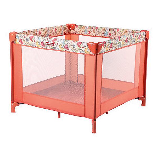Игровой манеж Amalfy HB-8090, Happy Baby, coralДетские манежи<br>Игровой манеж Amalfy HB-8090, Happy Baby, coral - это удобный практичный и красивый манеж.<br>Стильный и компактный манеж подарит малышу безопасное пространство для игр и развития, а родителям несколько свободных минут, чтобы заняться своими делами. Манеж имеет форму квадрата. Сетчатые стенки манежа обеспечат хорошую циркуляцию воздуха и позволят наблюдать за малышом. Все углы защищены атравматичными накладками. Манеж очень устойчивый благодаря дополнительным ножкам, расположенным по центру. Легко и компактно складывается в удобную сумку-переноску с застежкой-молнией. Манеж можно использовать на свежем воздухе.<br><br>Дополнительная информация:<br><br>- Возраст: от 0 до 4 лет<br>- Максимальный вес ребенка: 15 кг.<br>- Тип складывания: зонт<br>- Размер: 93х93 см.<br>- Цвет: коралловый<br>- Упаковка: сумка с застежкой-молнией<br>- Размер в упаковке: 21,2х21,2х83 см.<br>- Вес: 9,8 кг.<br><br>Игровой манеж Amalfy HB-8090, Happy Baby, coral можно купить в нашем интернет-магазине.<br><br>Ширина мм: 212<br>Глубина мм: 212<br>Высота мм: 830<br>Вес г: 9800<br>Возраст от месяцев: 0<br>Возраст до месяцев: 48<br>Пол: Унисекс<br>Возраст: Детский<br>SKU: 4918829